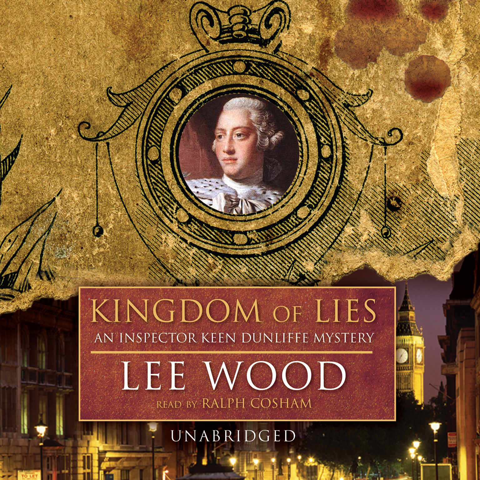 Printable Kingdom of Lies: An Inspector Keen Dunliffe Mystery Audiobook Cover Art