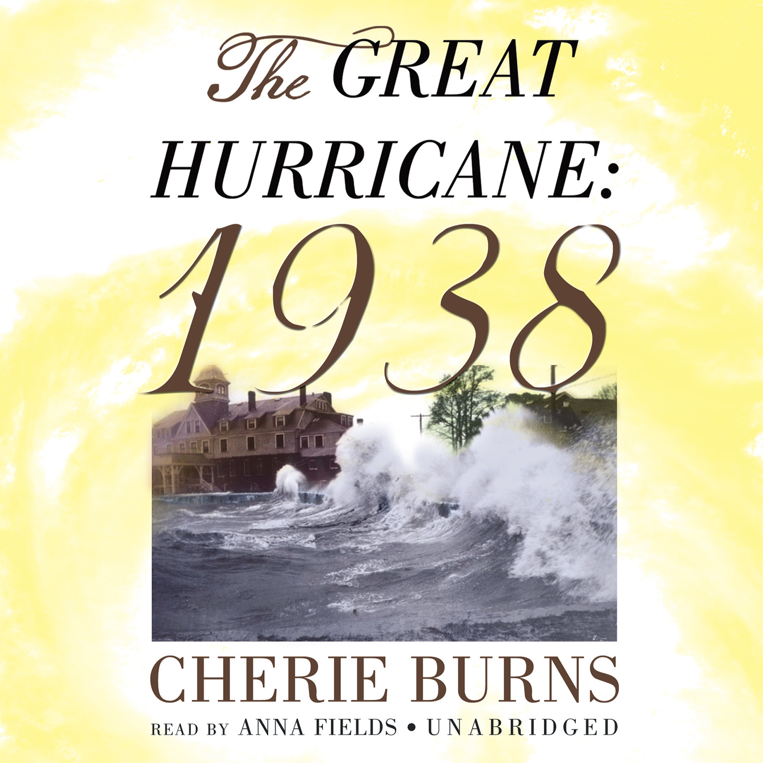 Printable The Great Hurricane: 1938 Audiobook Cover Art