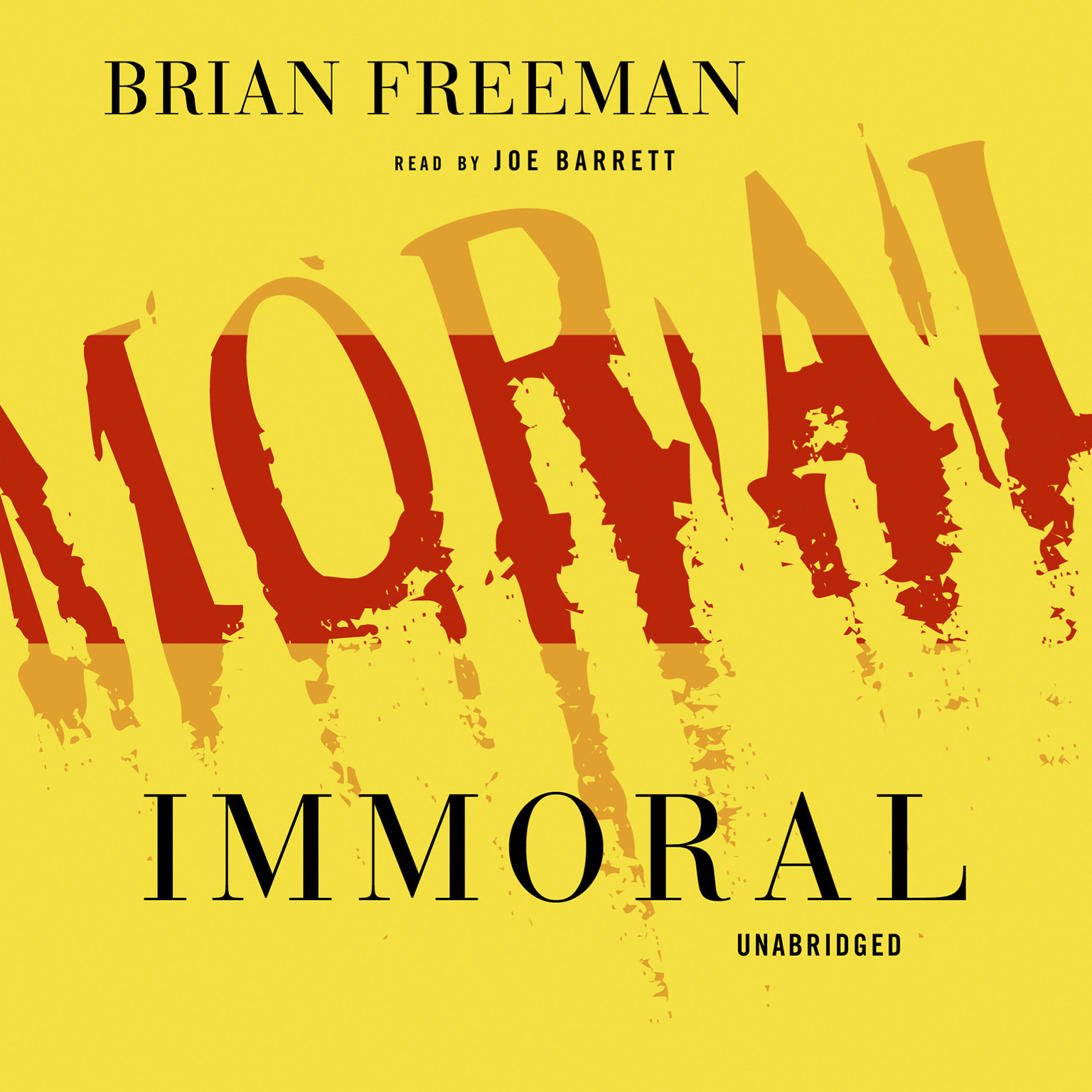 Printable Immoral Audiobook Cover Art