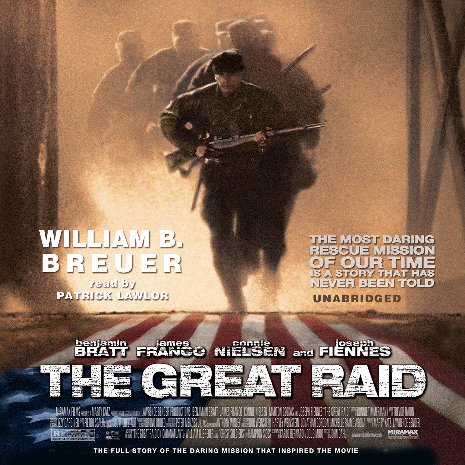 Printable The Great Raid: Rescuing the Doomed Ghosts of Bataan and Corregidor Audiobook Cover Art