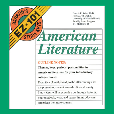 American Literature Audiobook, by Francis E. Skipp