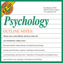 Psychology Audiobook, by Don Baucum