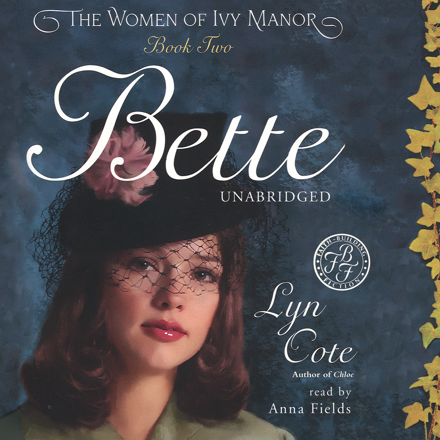 Printable Bette Audiobook Cover Art