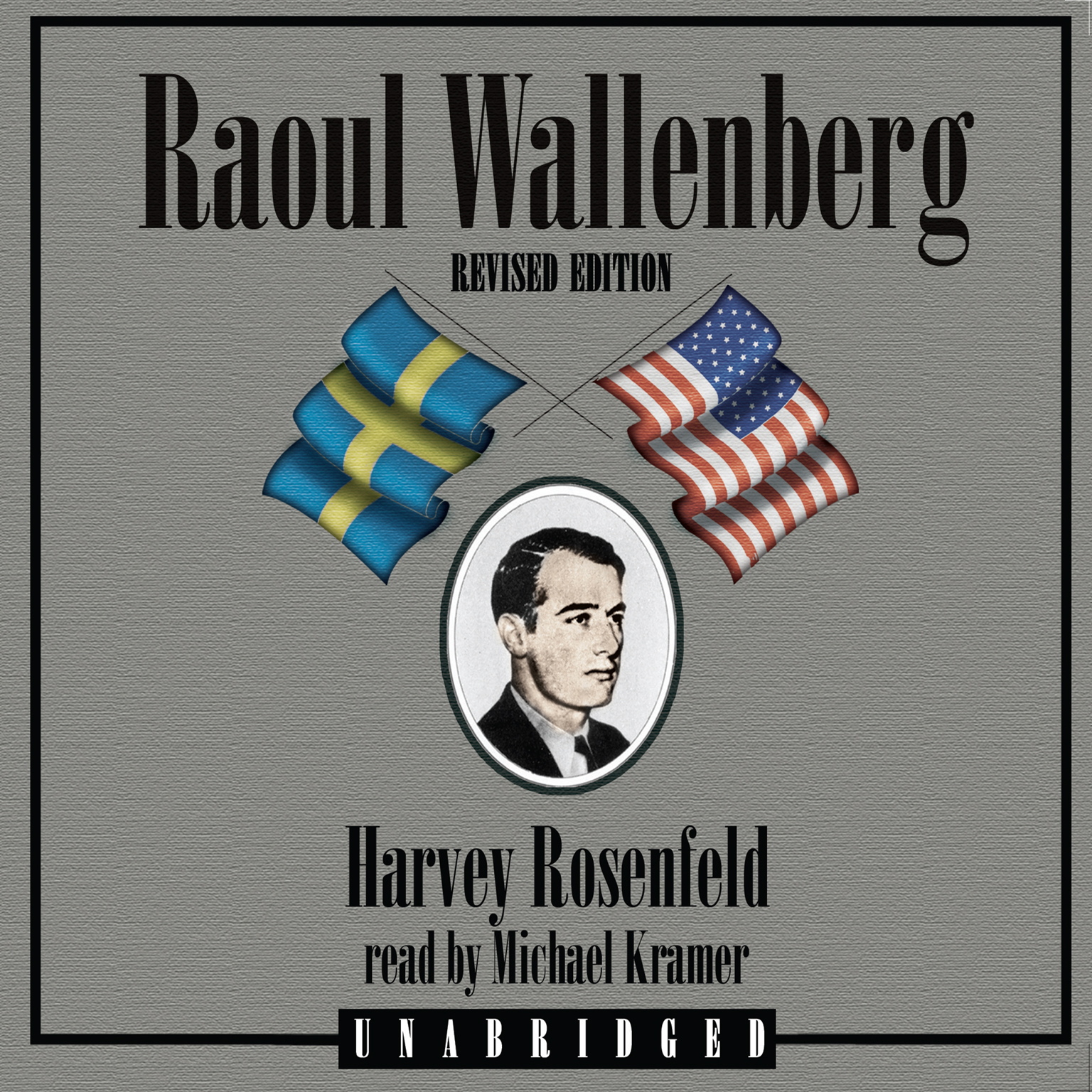 Printable Raoul Wallenberg, Revised Edition Audiobook Cover Art