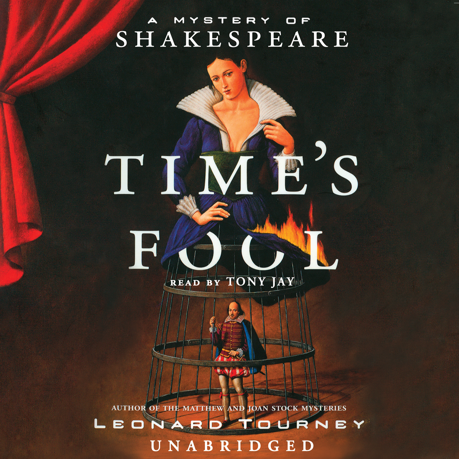 Printable Time's Fool: A Mystery of Shakespeare Audiobook Cover Art