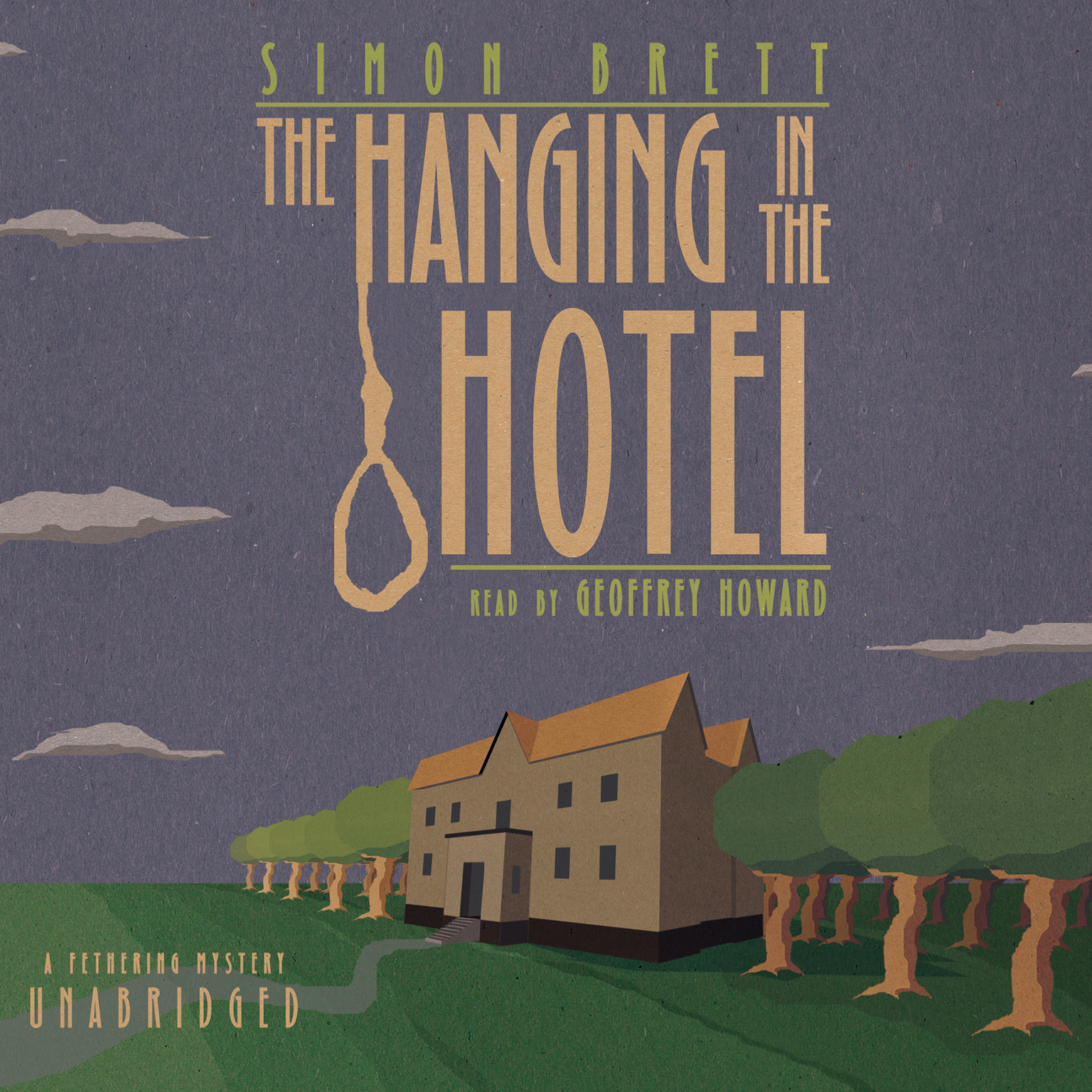 Printable The Hanging in the Hotel: A Fethering Mystery Audiobook Cover Art