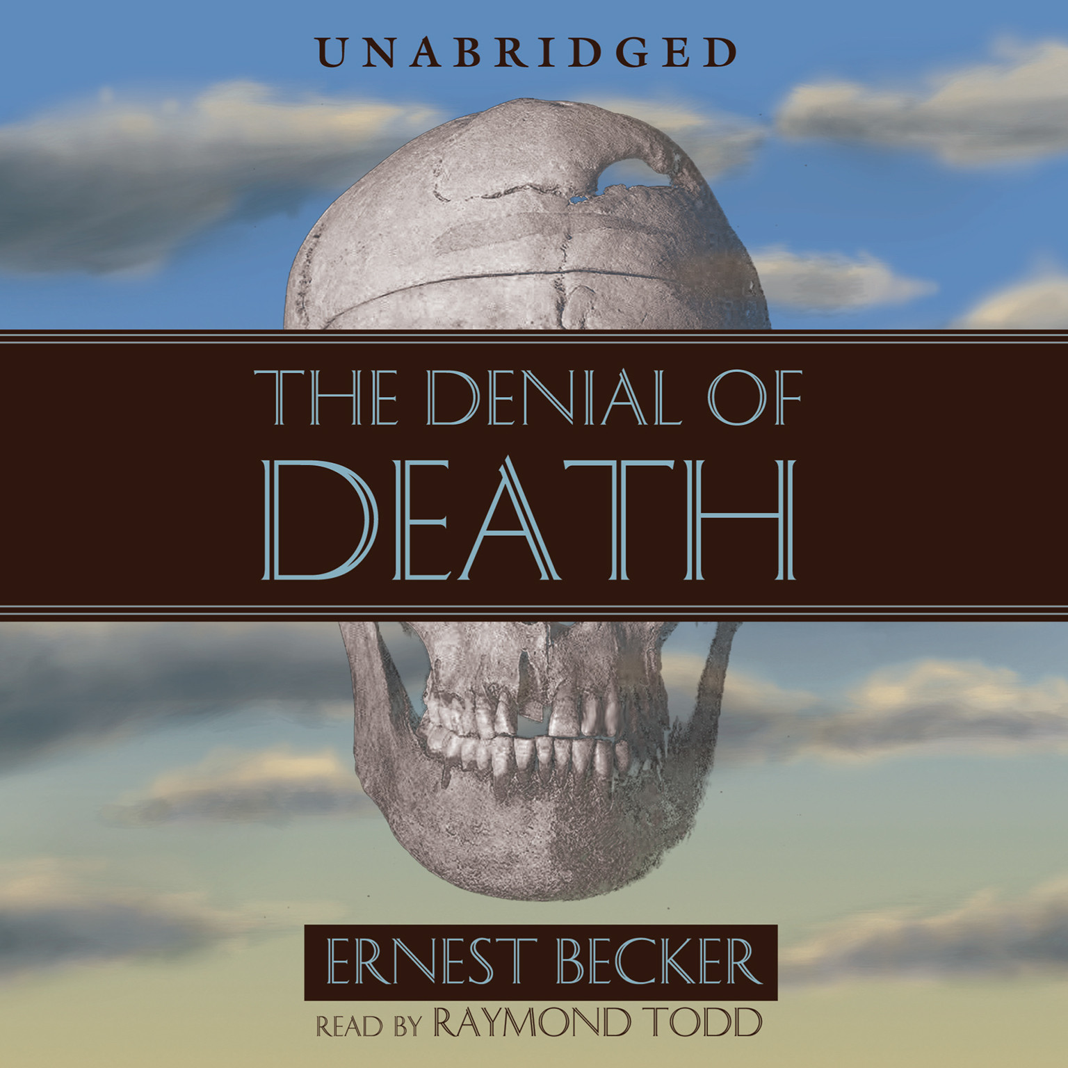 Printable The Denial of Death Audiobook Cover Art