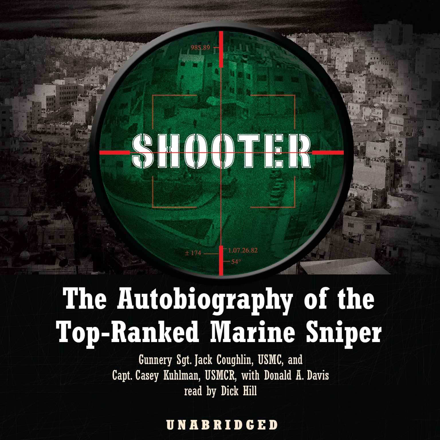 Printable Shooter: The Autobiography of the Top-Ranked Marine Sniper Audiobook Cover Art
