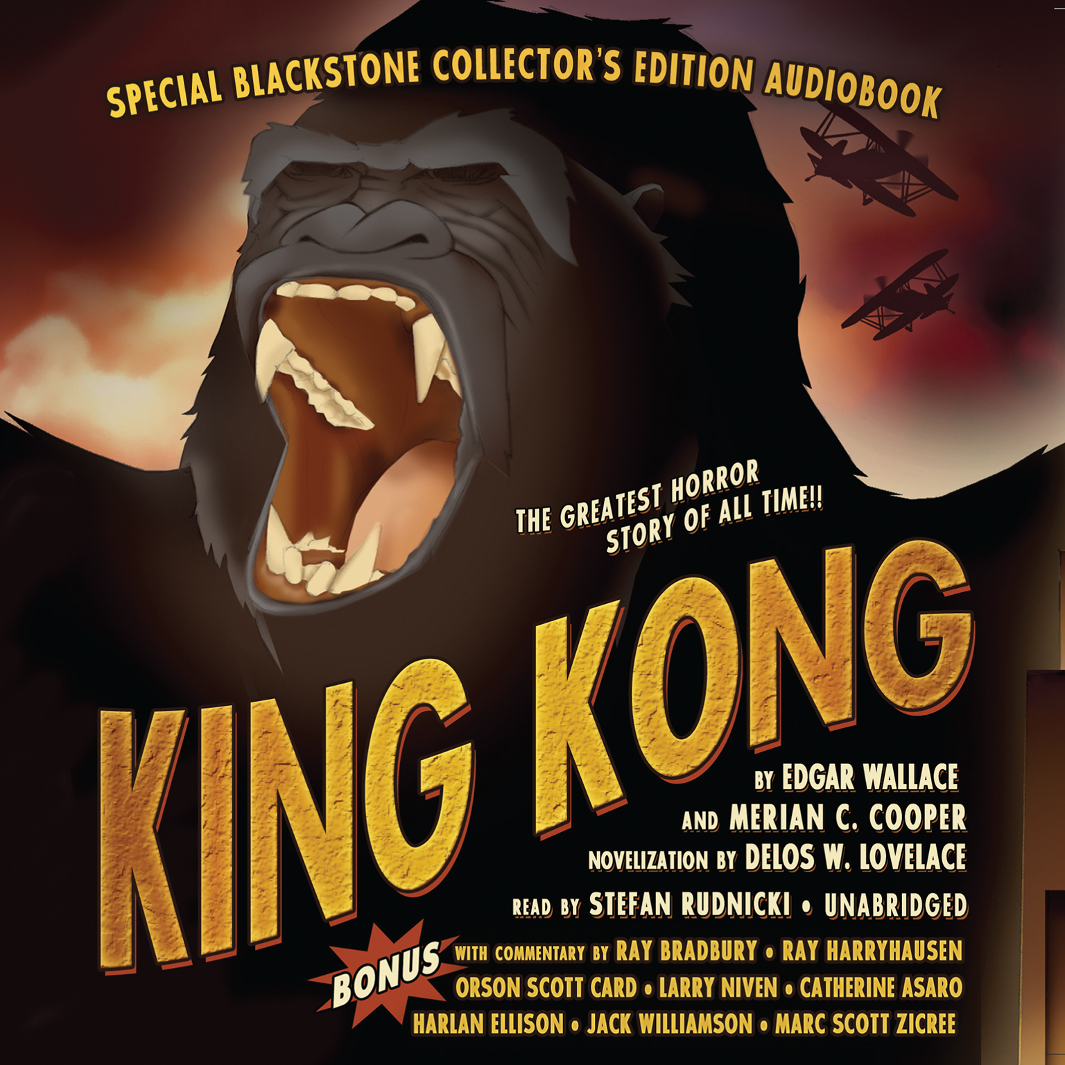 Printable King Kong Audiobook Cover Art