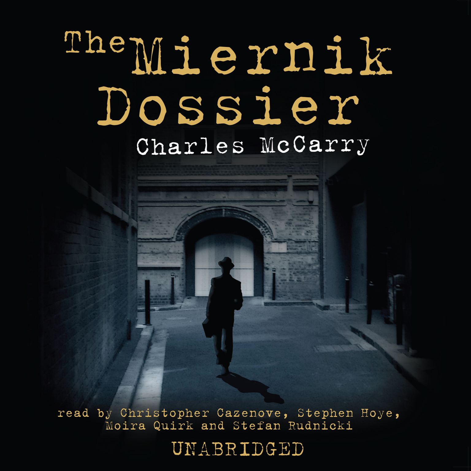 Printable The Miernik Dossier Audiobook Cover Art