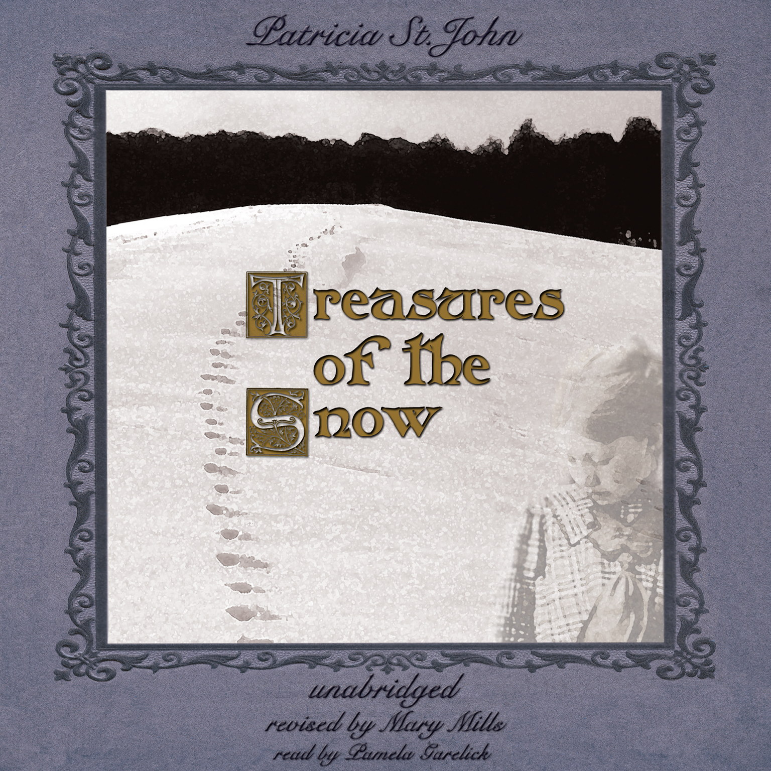Printable Treasures of the Snow Audiobook Cover Art