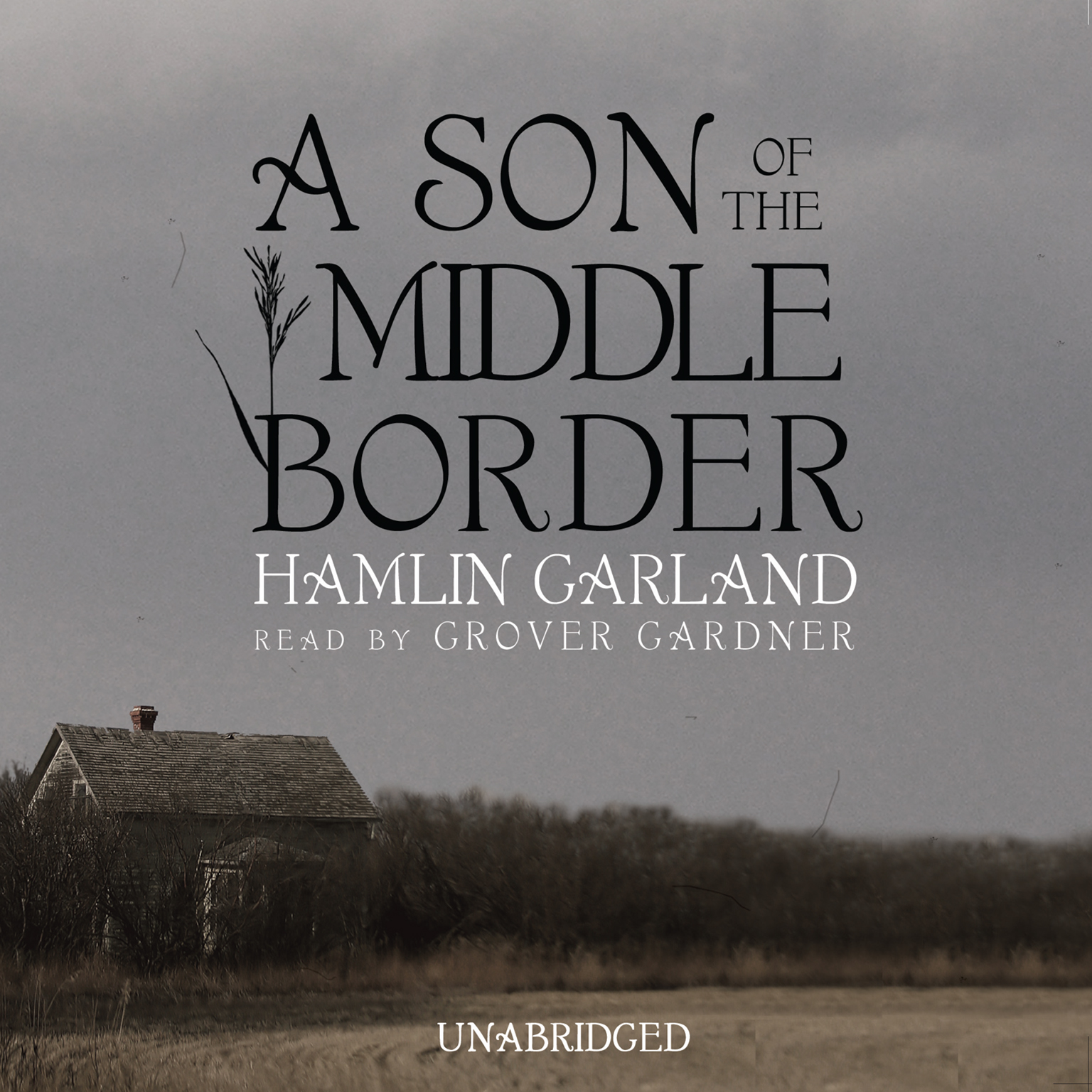 Printable A Son of the Middle Border Audiobook Cover Art