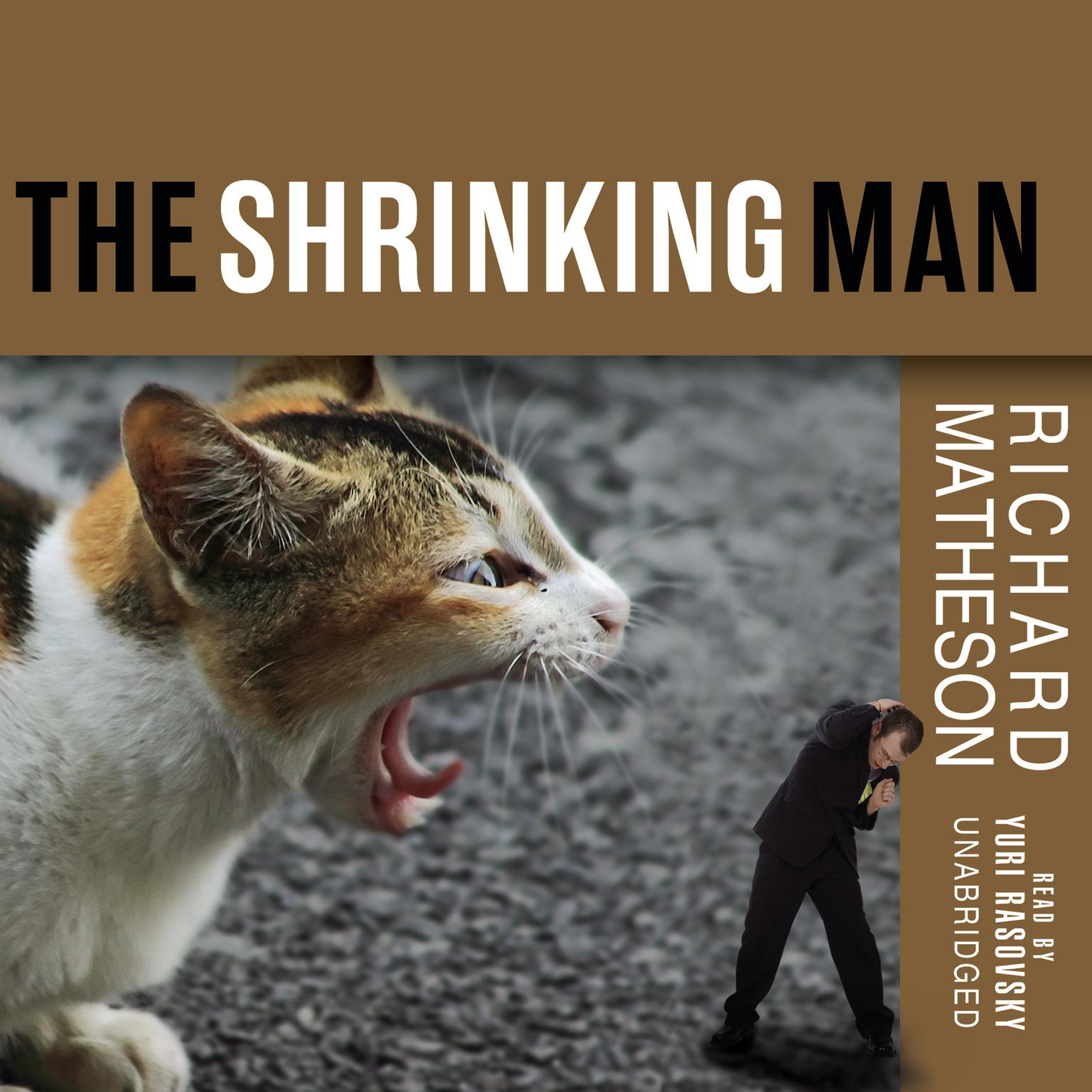 Printable The Incredible Shrinking Man Audiobook Cover Art