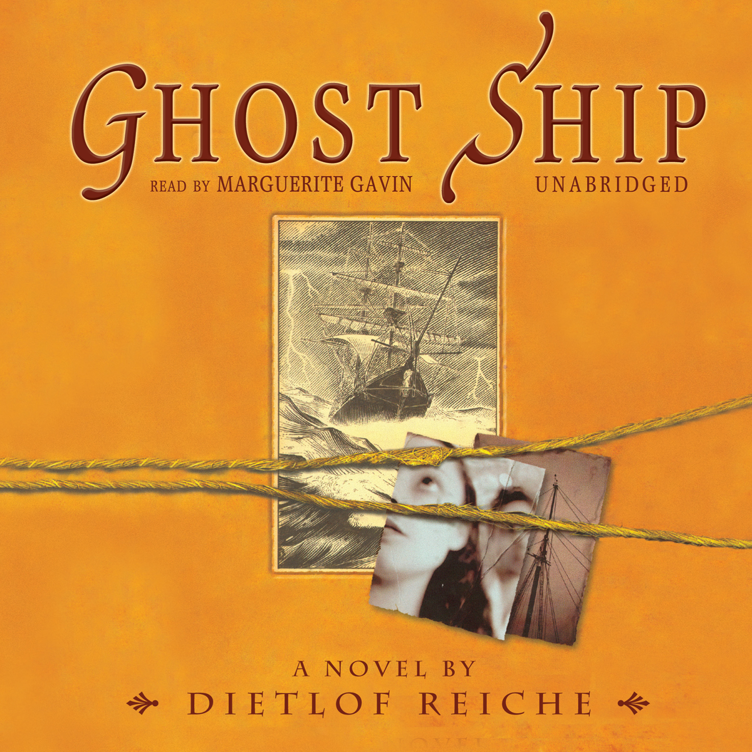 Printable Ghost Ship Audiobook Cover Art