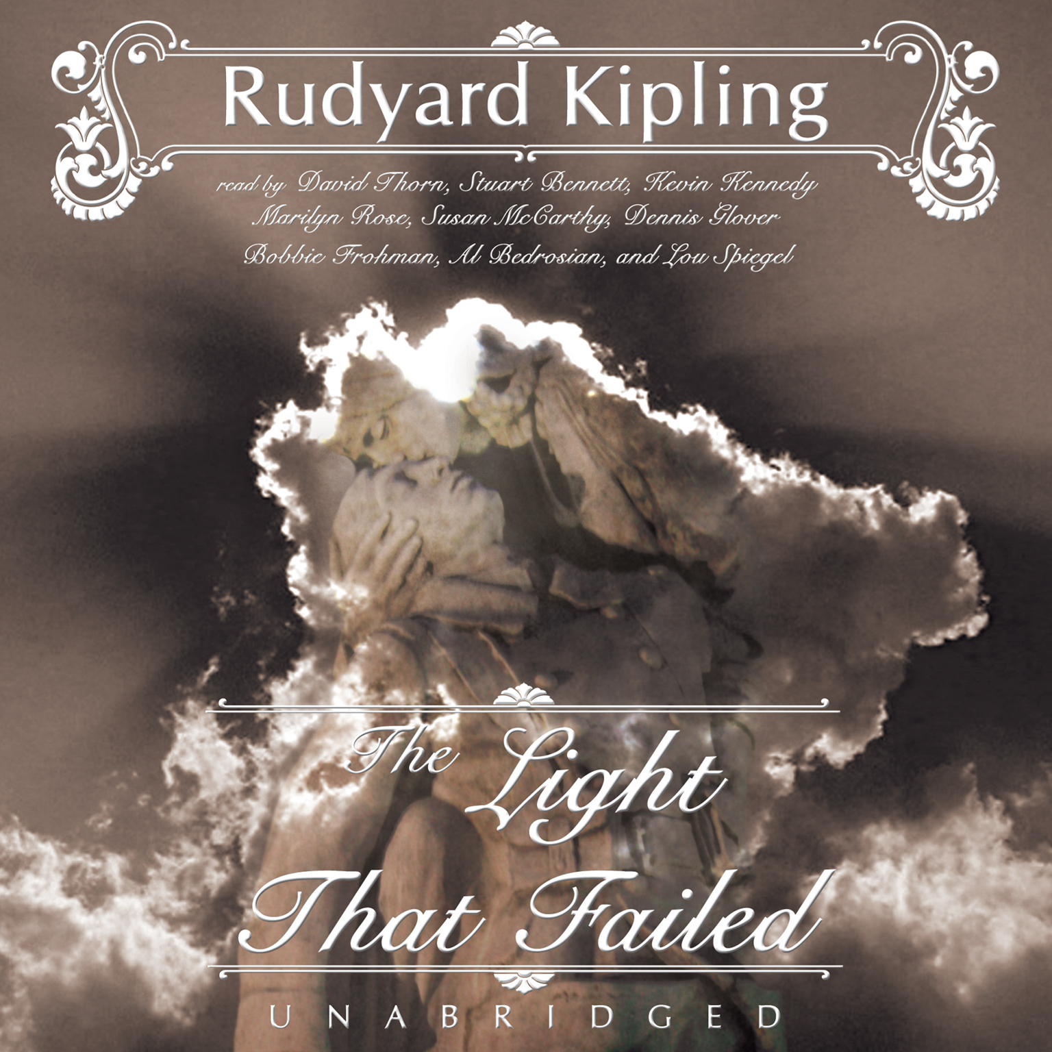 Printable The Light That Failed Audiobook Cover Art