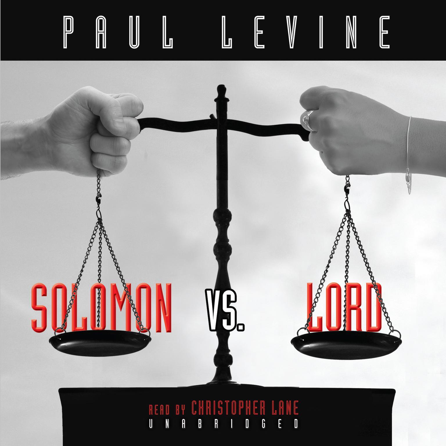 Printable Solomon vs. Lord Audiobook Cover Art