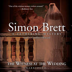 The Witness at the Wedding Audiobook, by Simon Brett