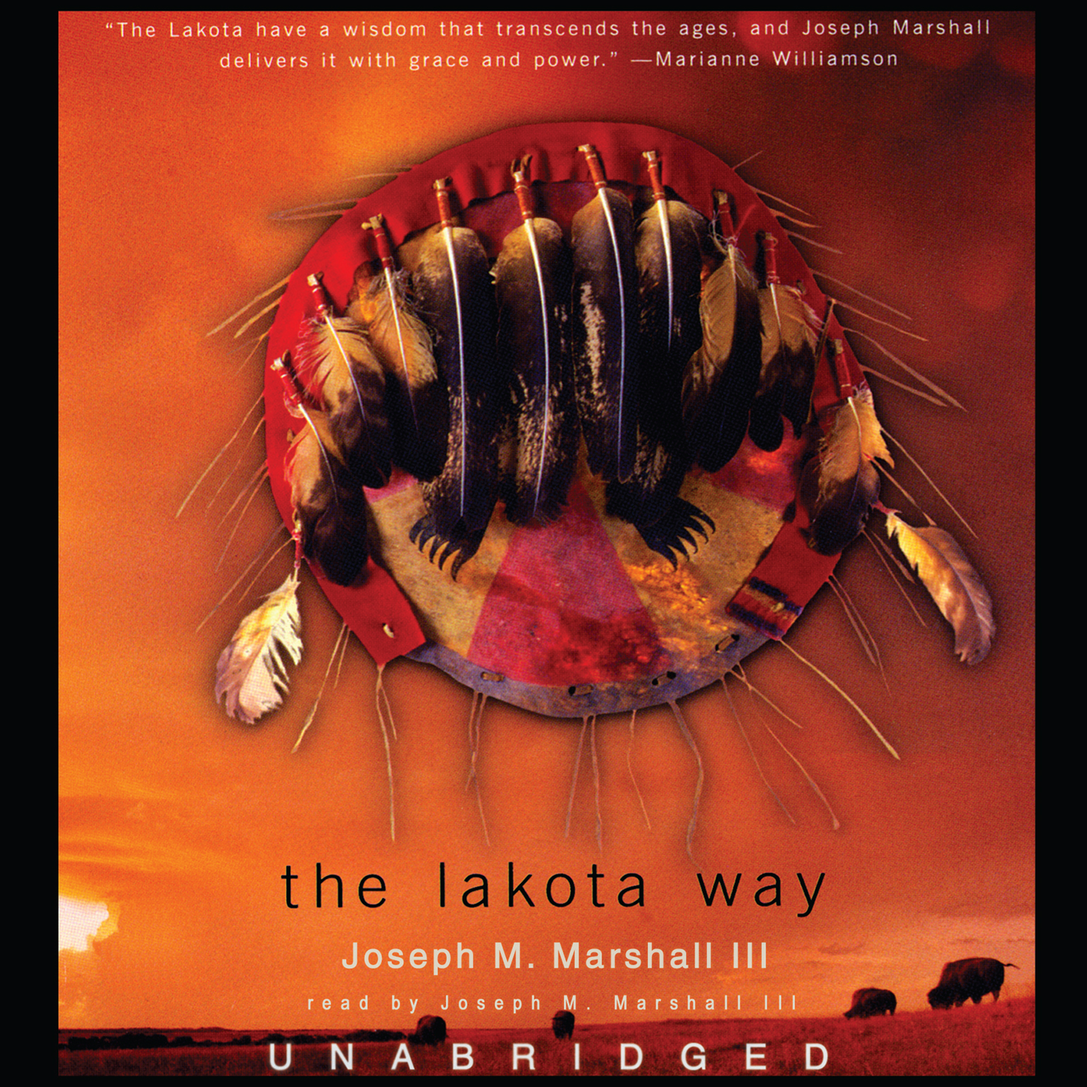 Printable The Lakota Way: Stories and Lessons for Living Audiobook Cover Art