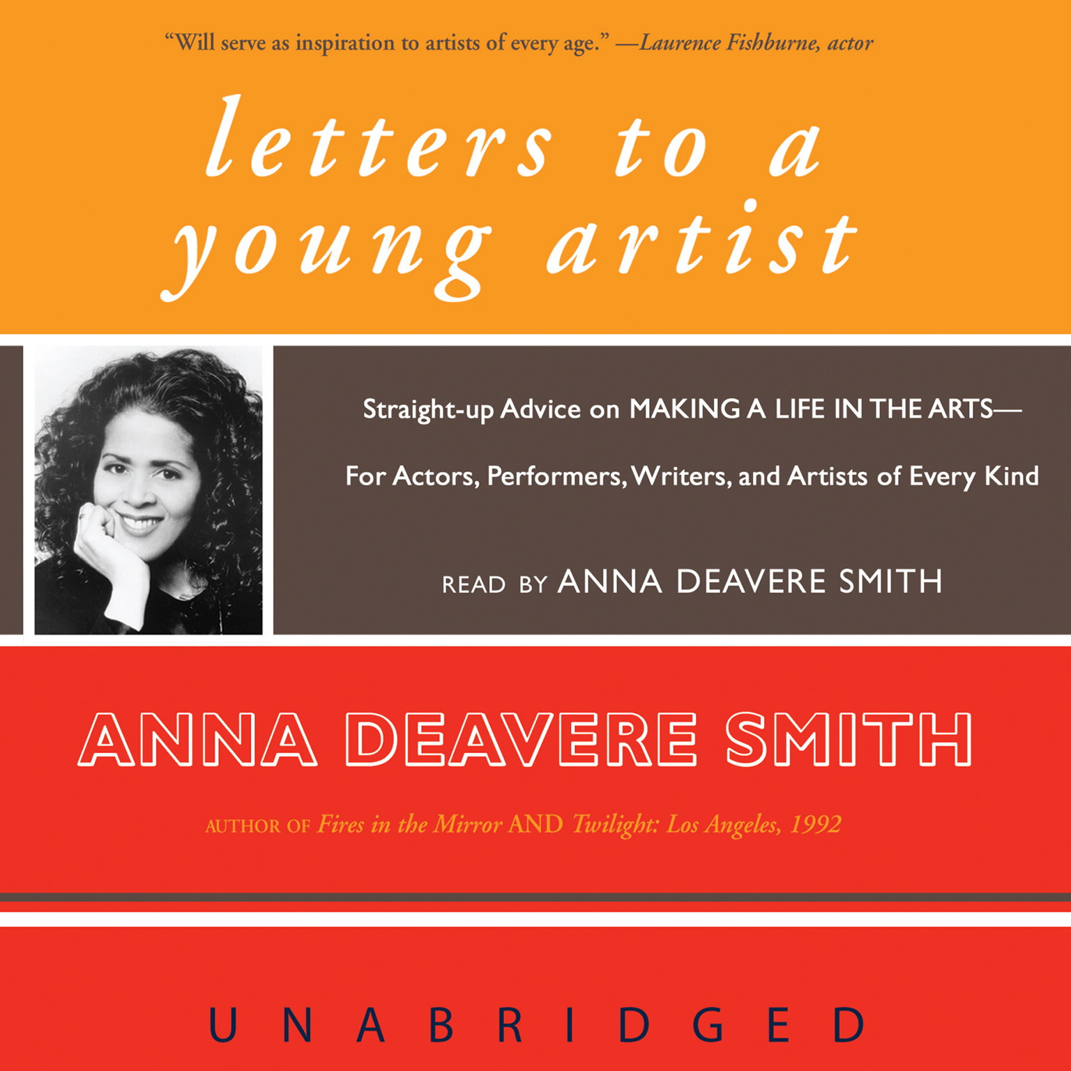 Printable Letters to a Young Artist: Straight-up Advice on Making a Life in the Arts—For Actors, Performers, Writers, and Artists of Every Kind Audiobook Cover Art