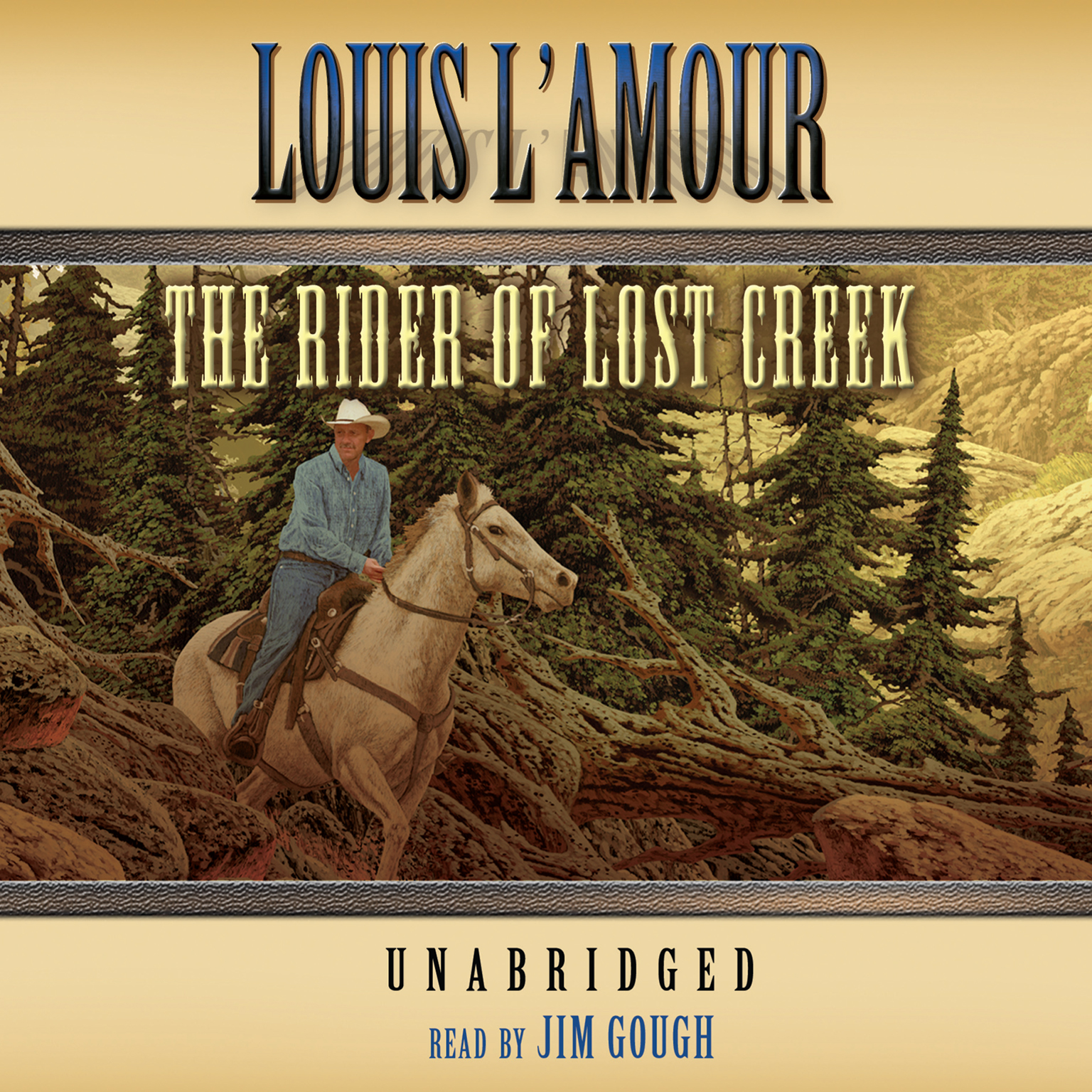 Printable The Rider of Lost Creek Audiobook Cover Art