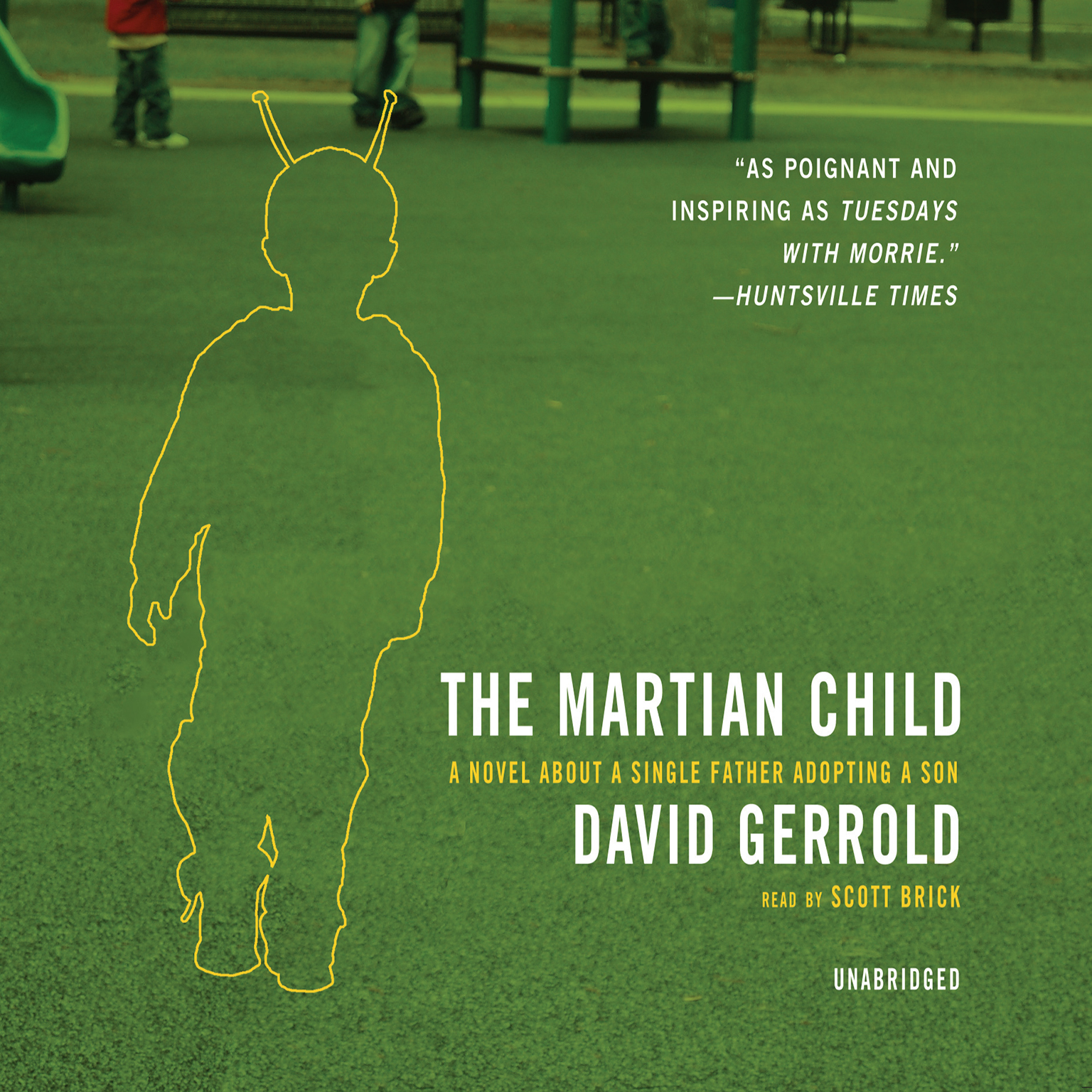 Printable The Martian Child: A Novel about a Single Father Adopting a Son Audiobook Cover Art