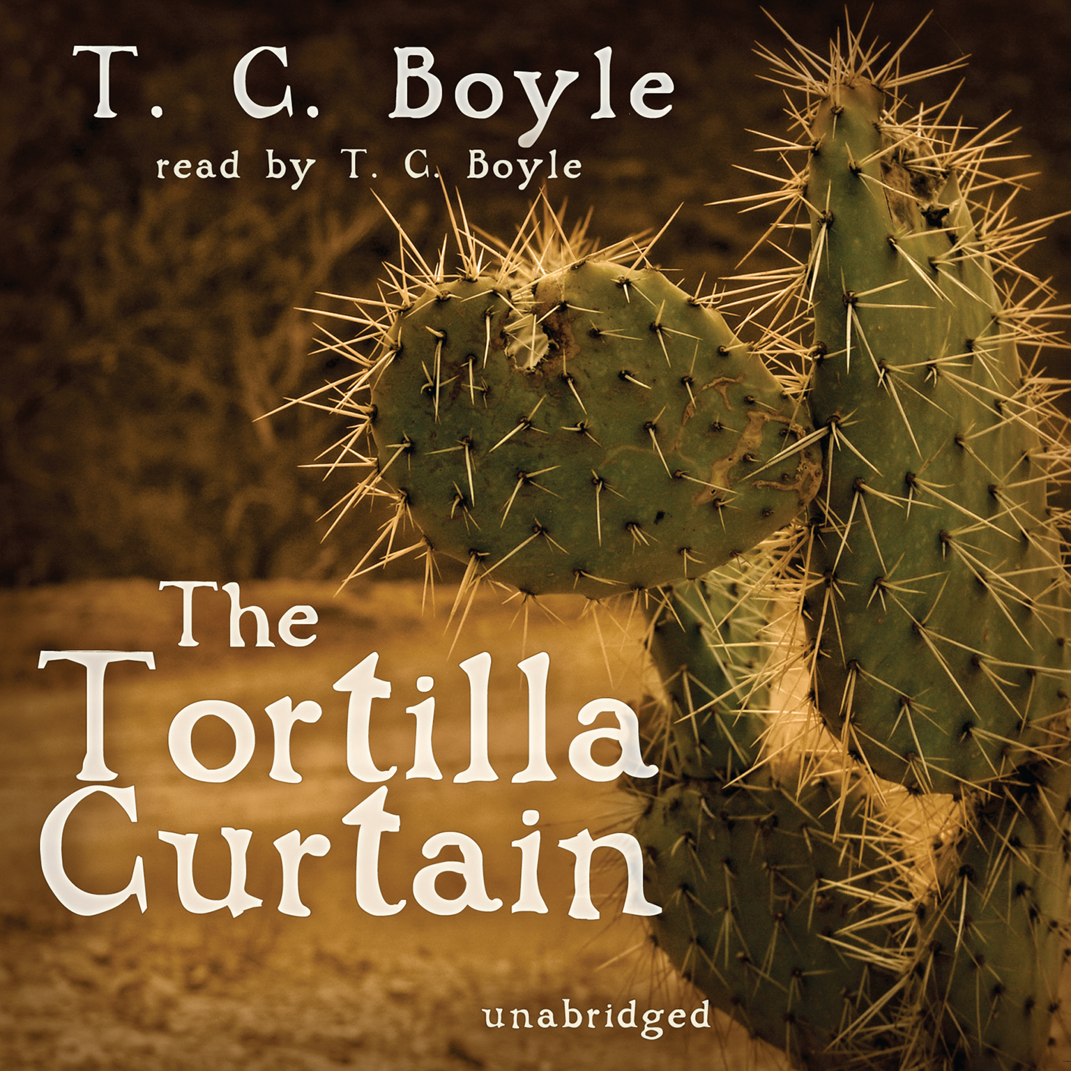 Printable The Tortilla Curtain Audiobook Cover Art