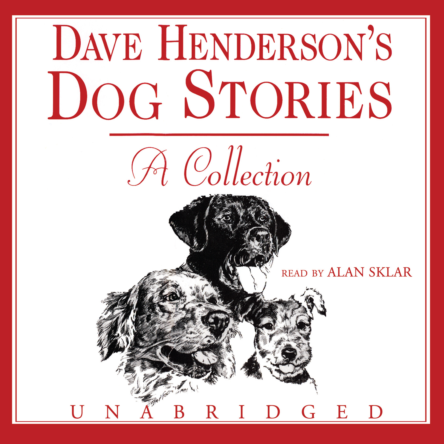 Printable Dave Henderson's Dog Stories: A Collection Audiobook Cover Art