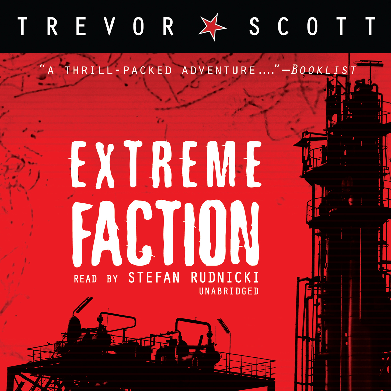 Printable Extreme Faction Audiobook Cover Art