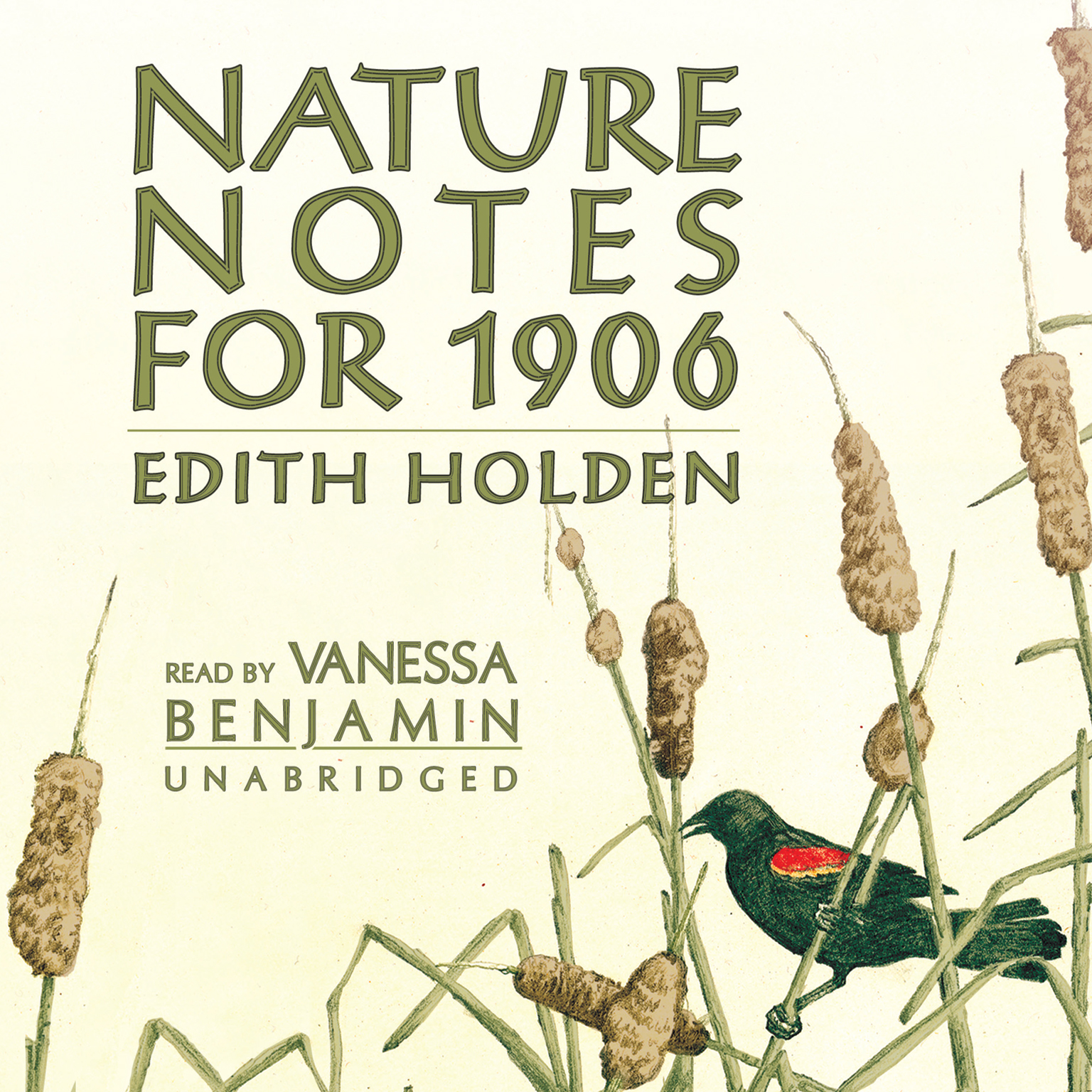 Printable Nature Notes for 1906 Audiobook Cover Art