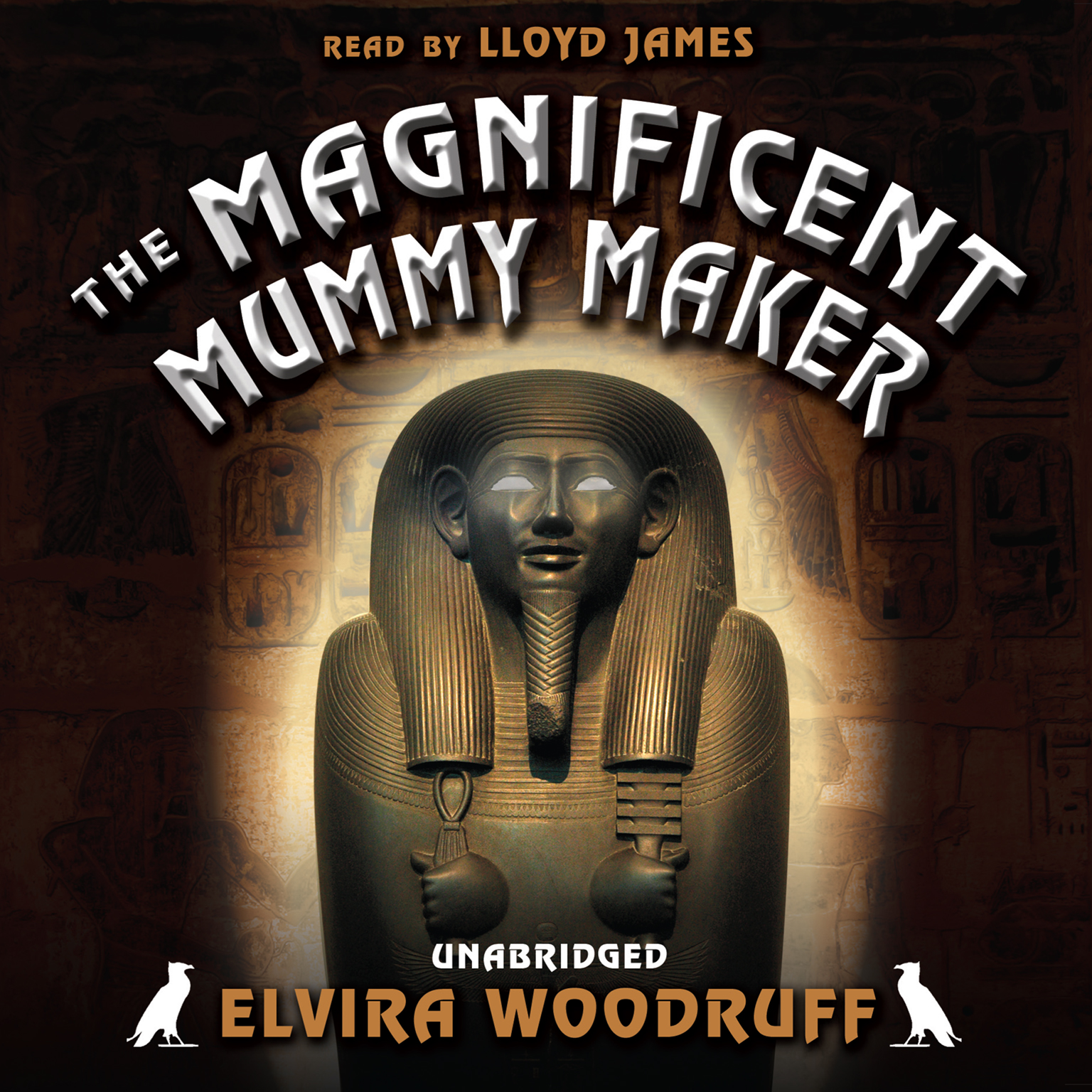 Printable The Magnificent Mummy Maker Audiobook Cover Art