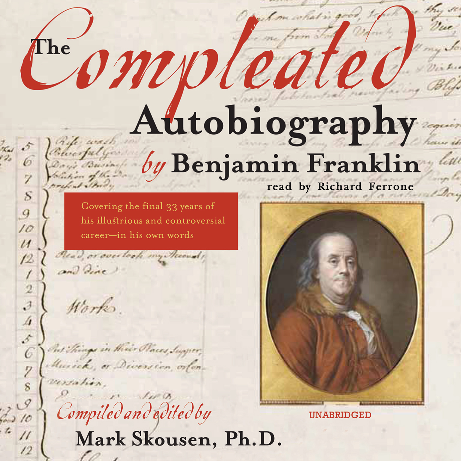 Printable The Compleated Autobiography Audiobook Cover Art
