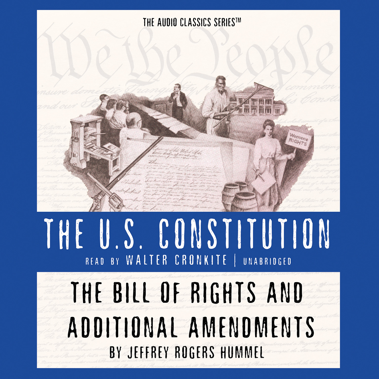 Printable The Bill of Rights and Additional Amendments Audiobook Cover Art