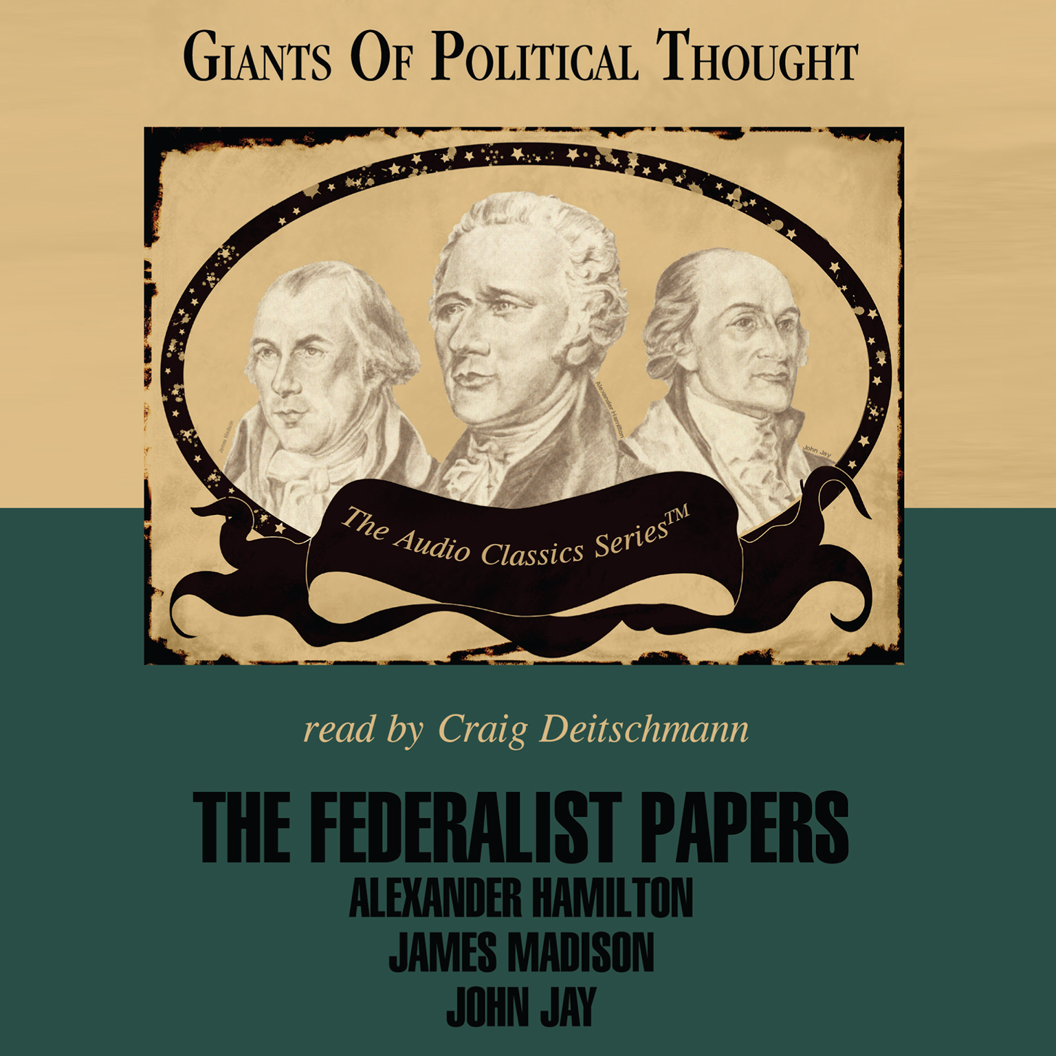 Printable The Federalist Papers Audiobook Cover Art