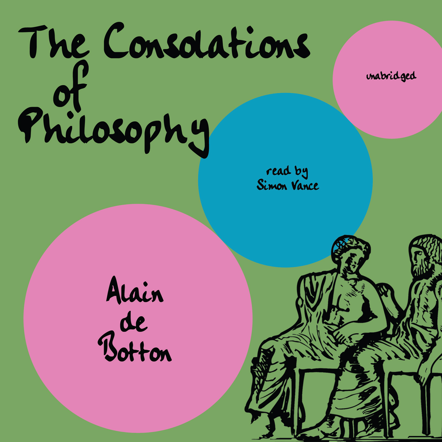 Printable The Consolations of Philosophy Audiobook Cover Art