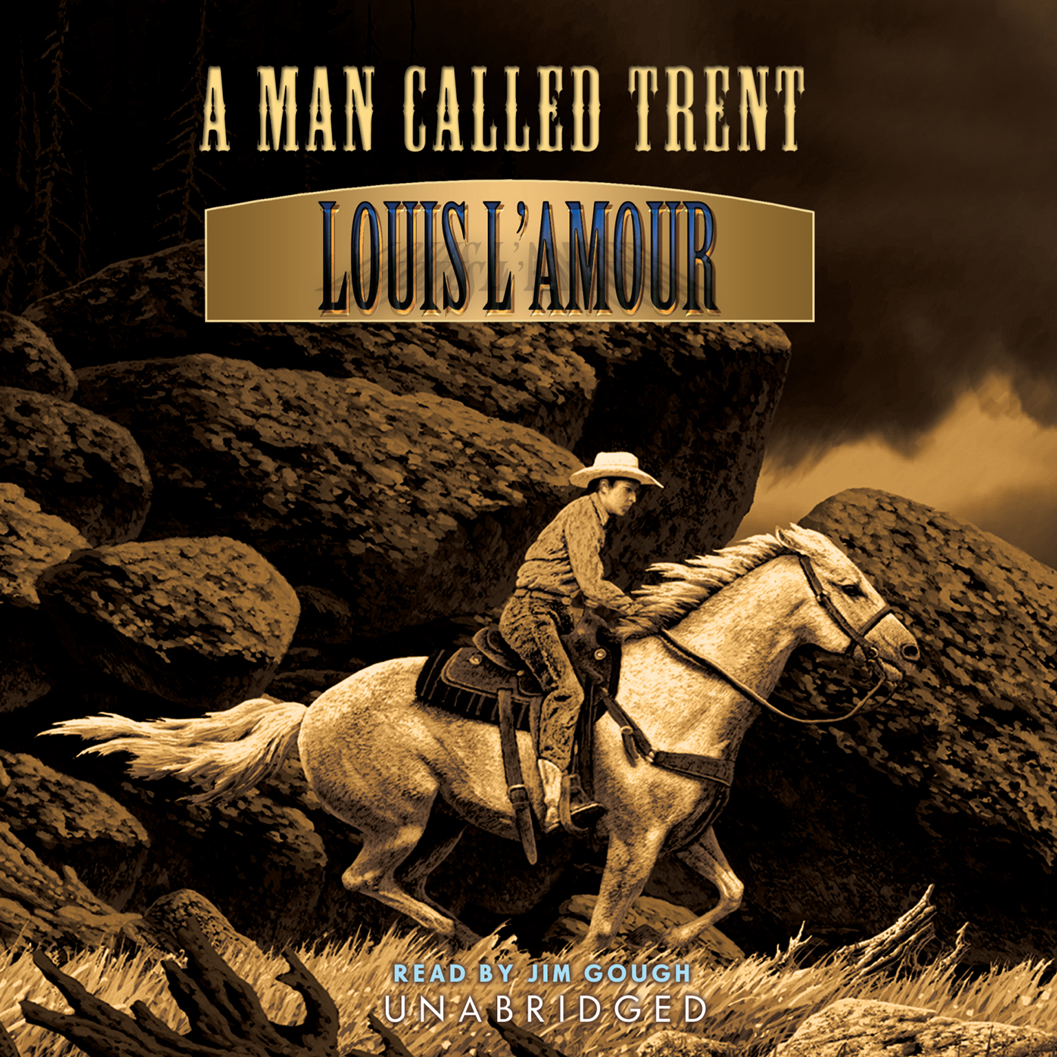 Printable A Man Called Trent Audiobook Cover Art