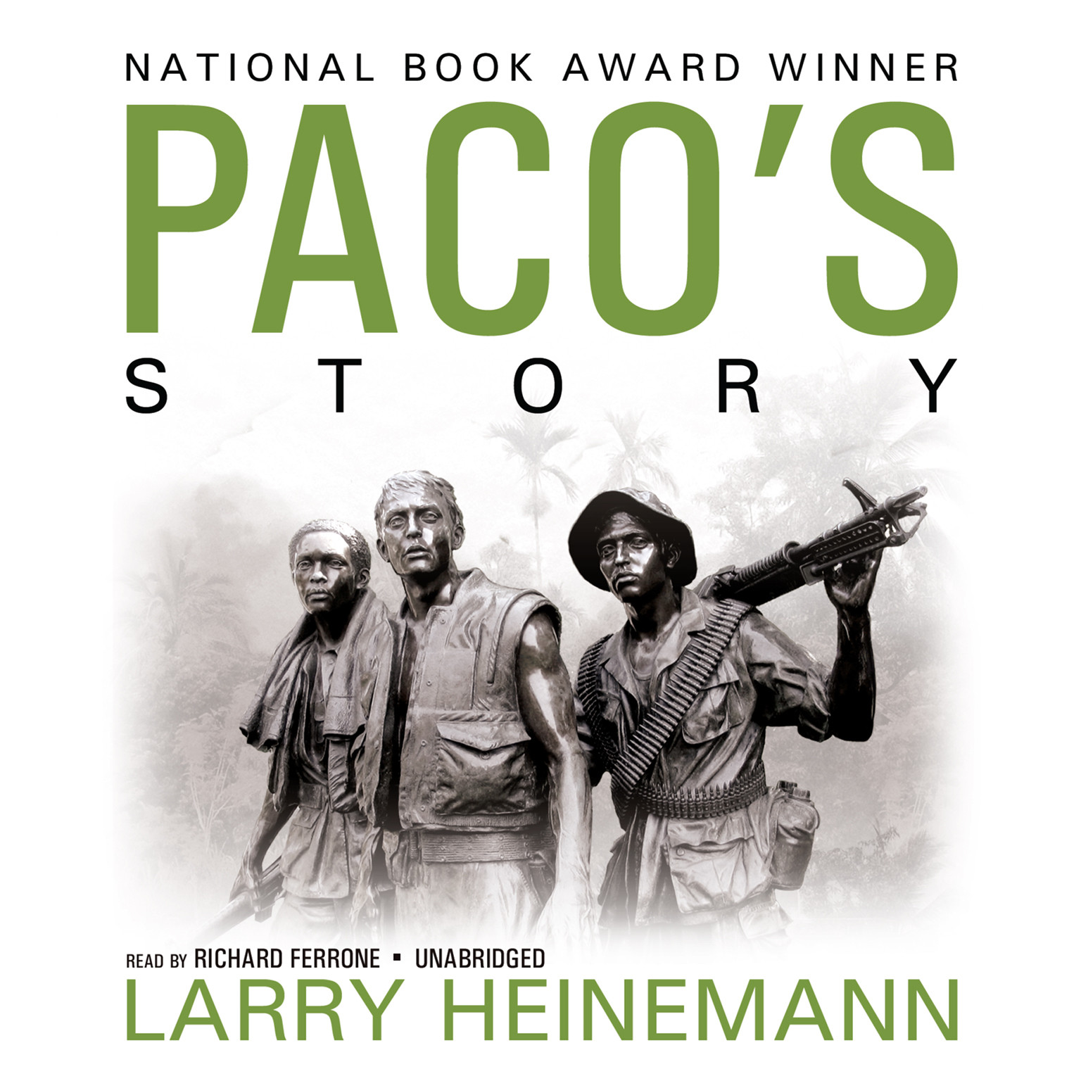 Printable Paco's Story Audiobook Cover Art