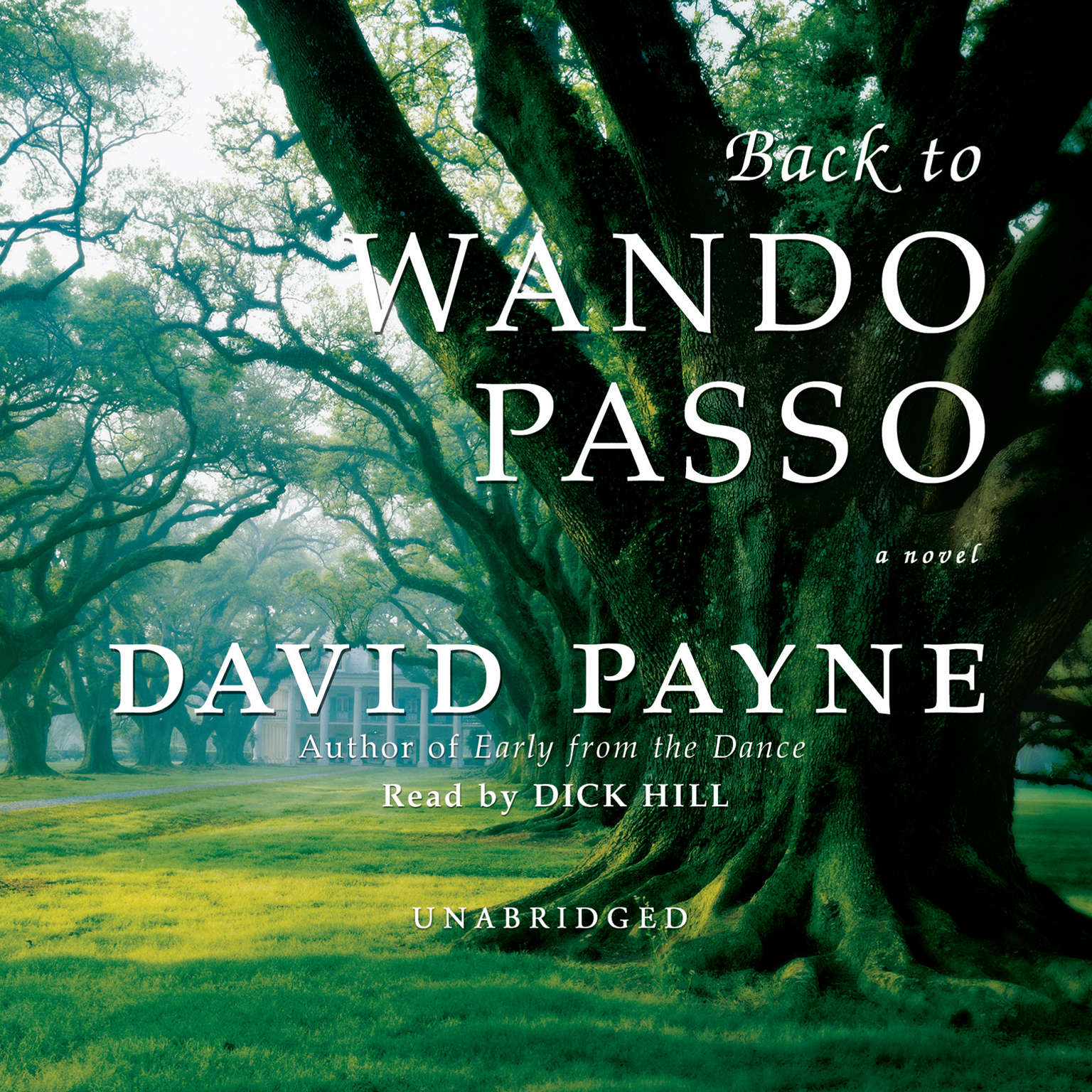 Printable Back to Wando Passo Audiobook Cover Art