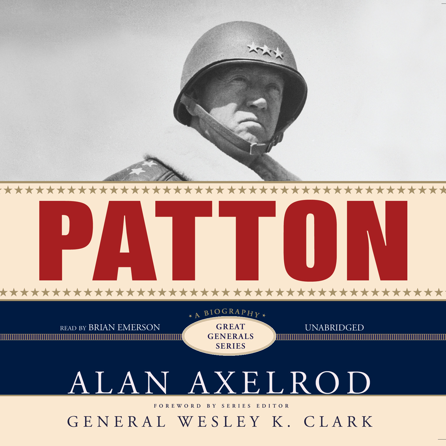 Printable Patton: A Biography Audiobook Cover Art