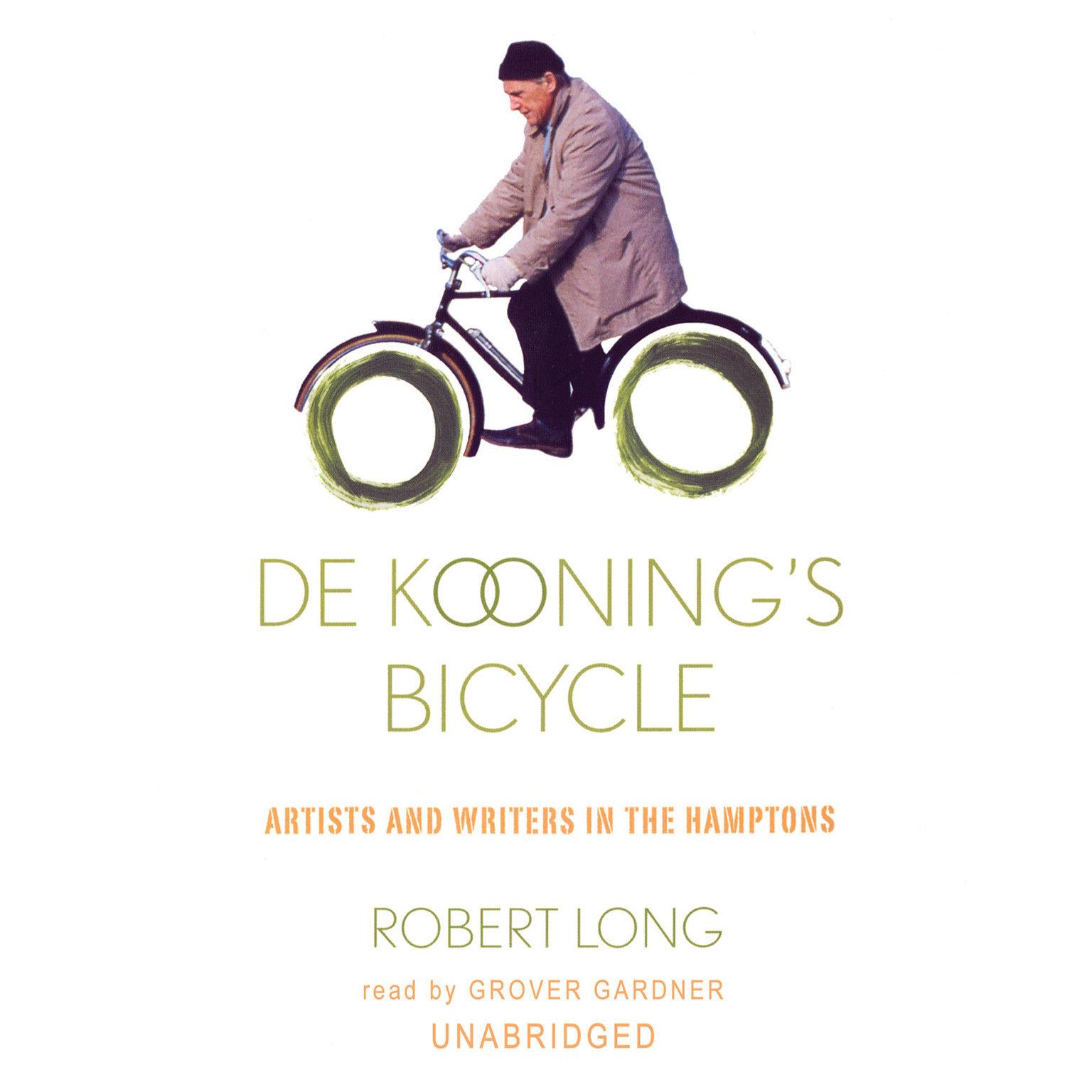Printable De Kooning's Bicycle: Artists and Writers in the Hamptons Audiobook Cover Art
