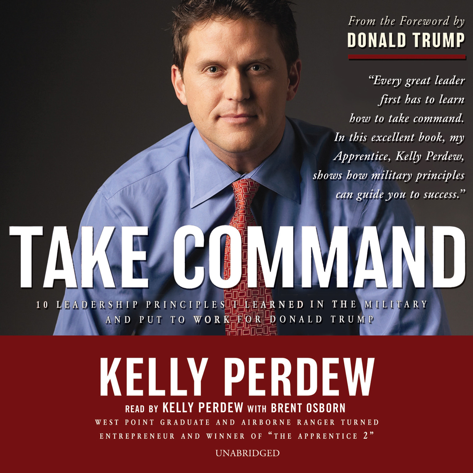 Printable Take Command: 10 Leadership Principles I Learned in the Military and Put to Work for Donald Trump Audiobook Cover Art