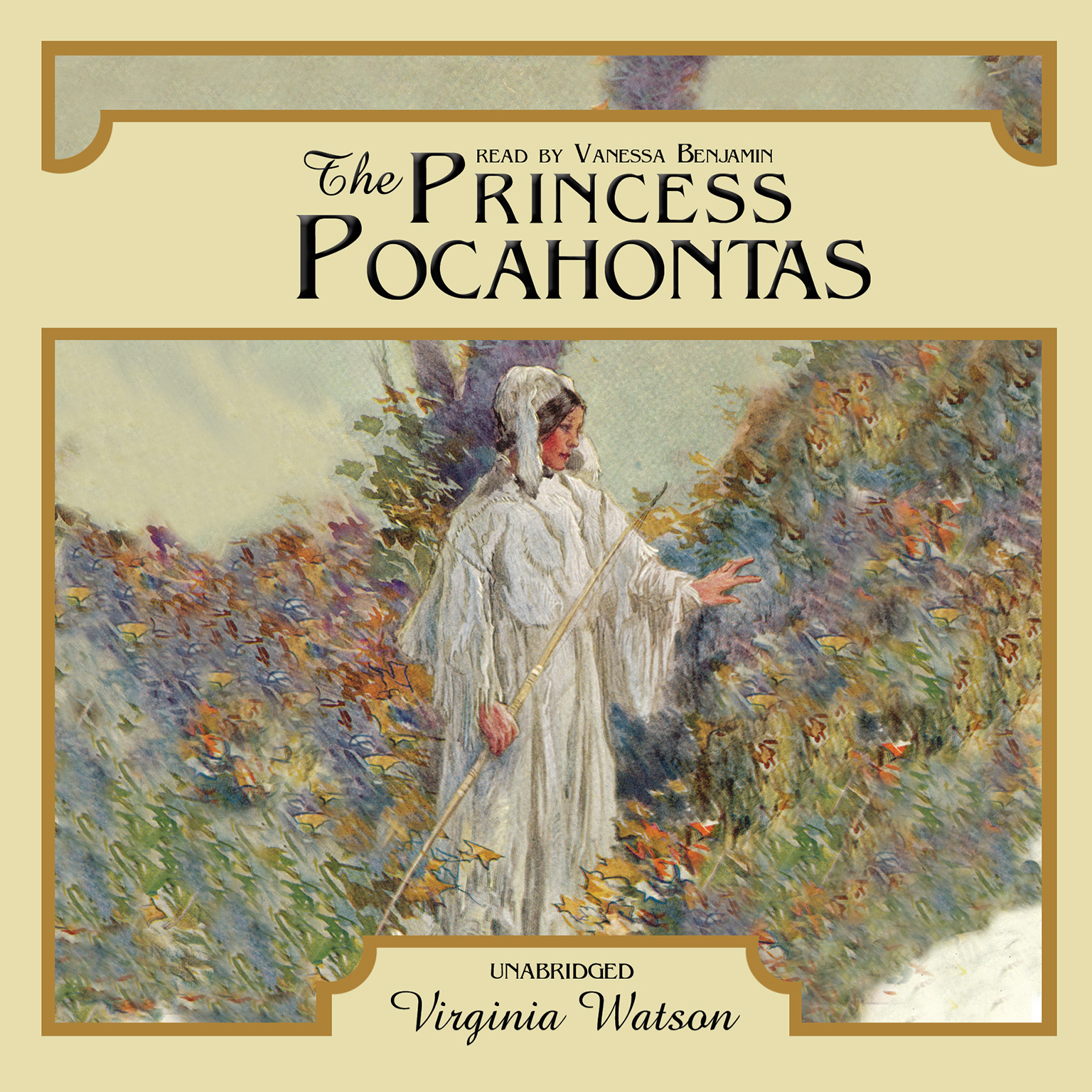Printable The Princess Pocahontas Audiobook Cover Art