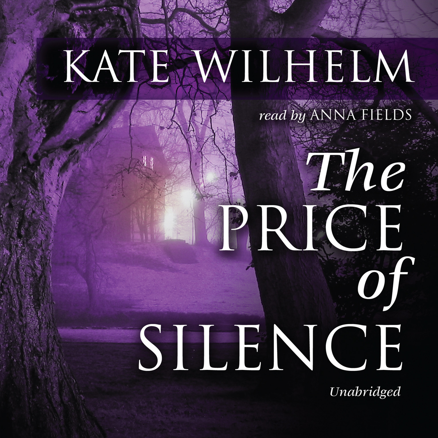 Printable The Price of Silence Audiobook Cover Art