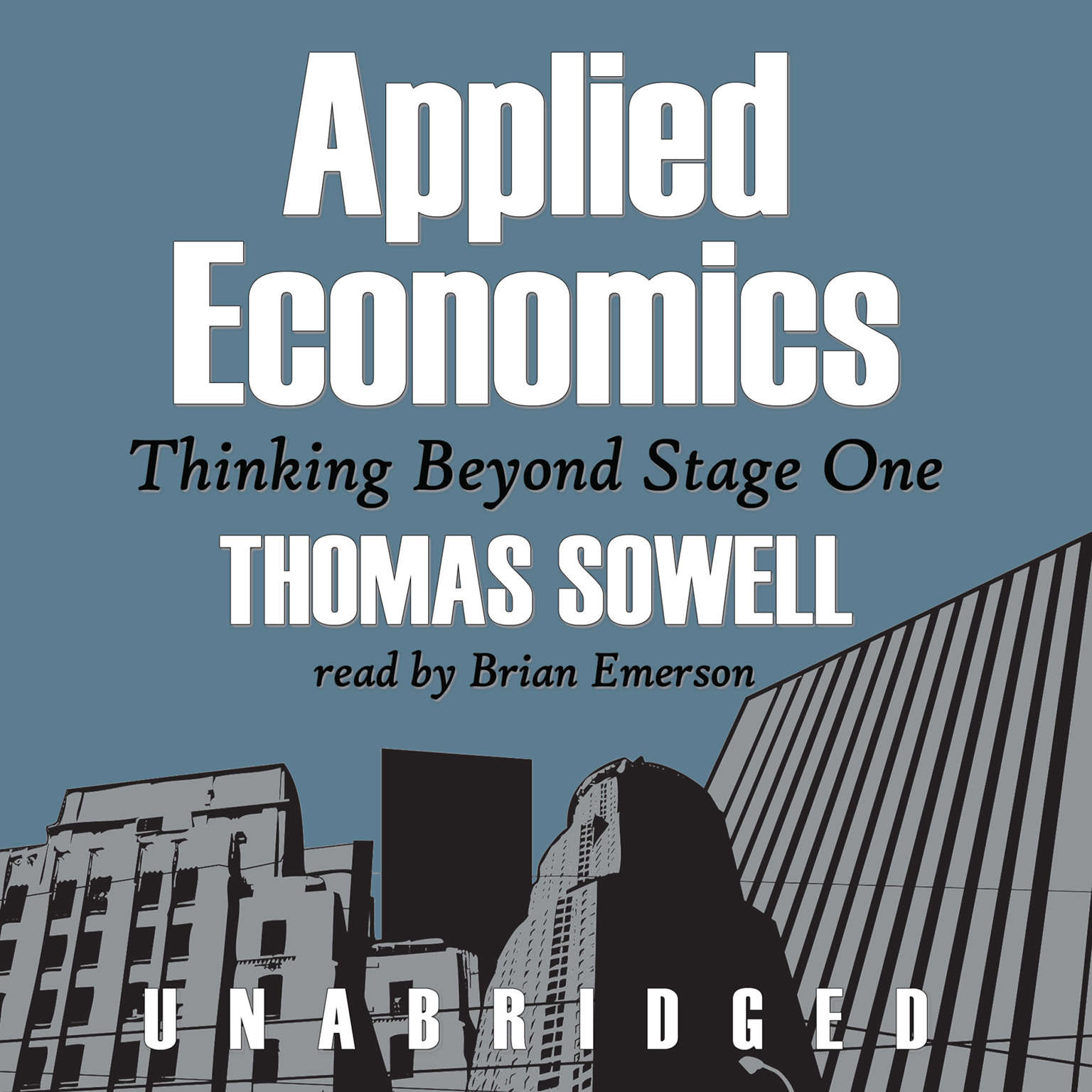 Printable Applied Economics: Thinking beyond Stage One Audiobook Cover Art