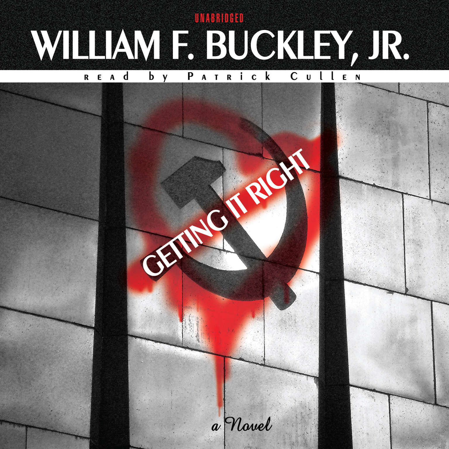 Printable Getting It Right Audiobook Cover Art
