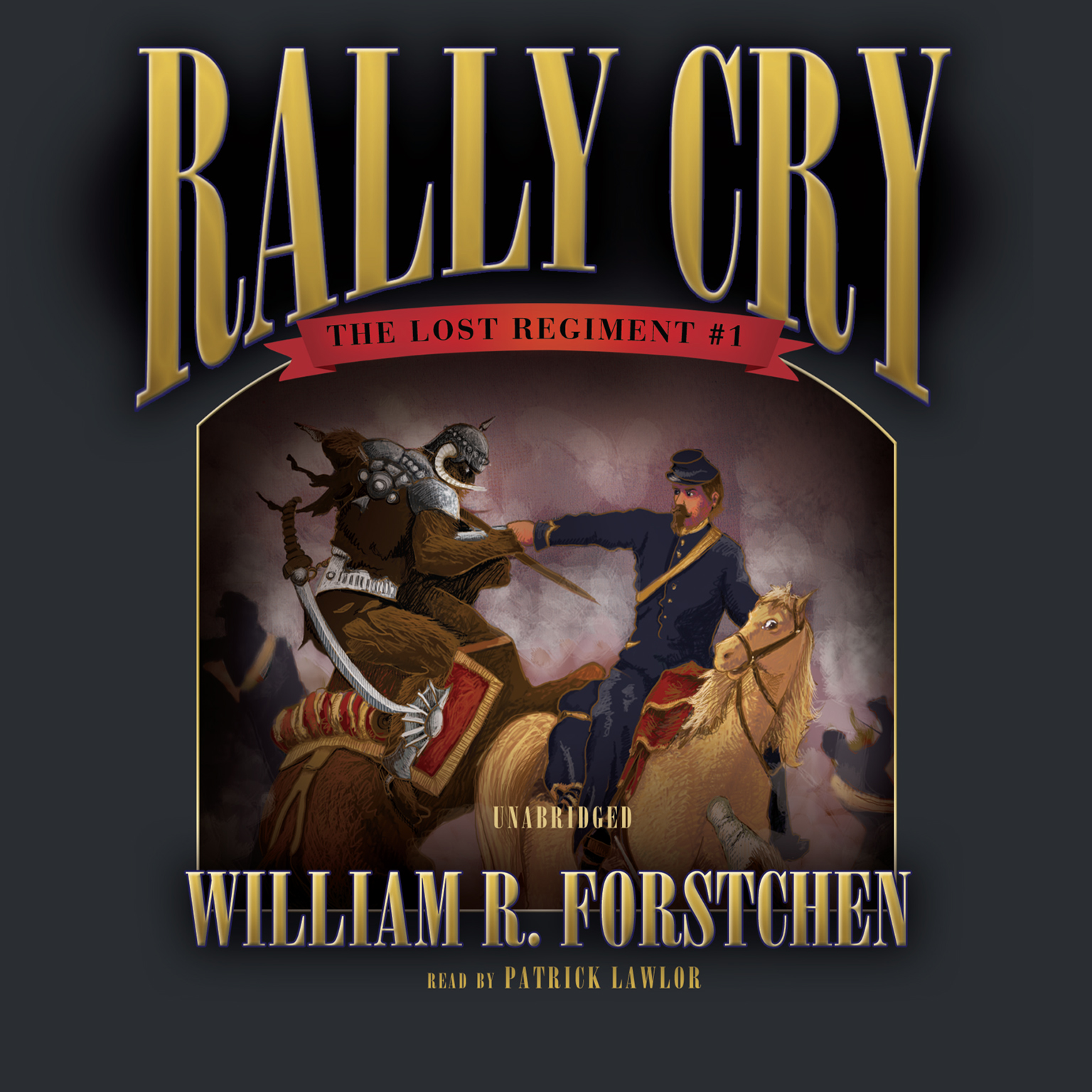 Printable Rally Cry Audiobook Cover Art