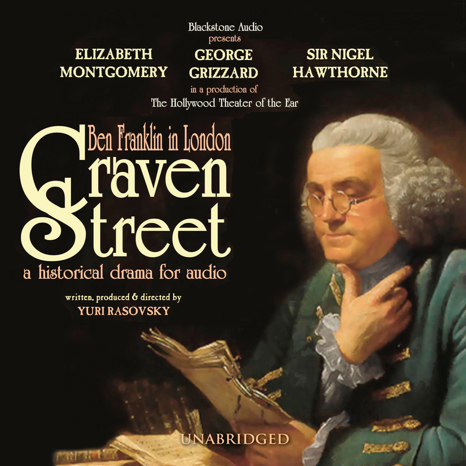 Printable Craven Street: Ben Franklin in London Audiobook Cover Art