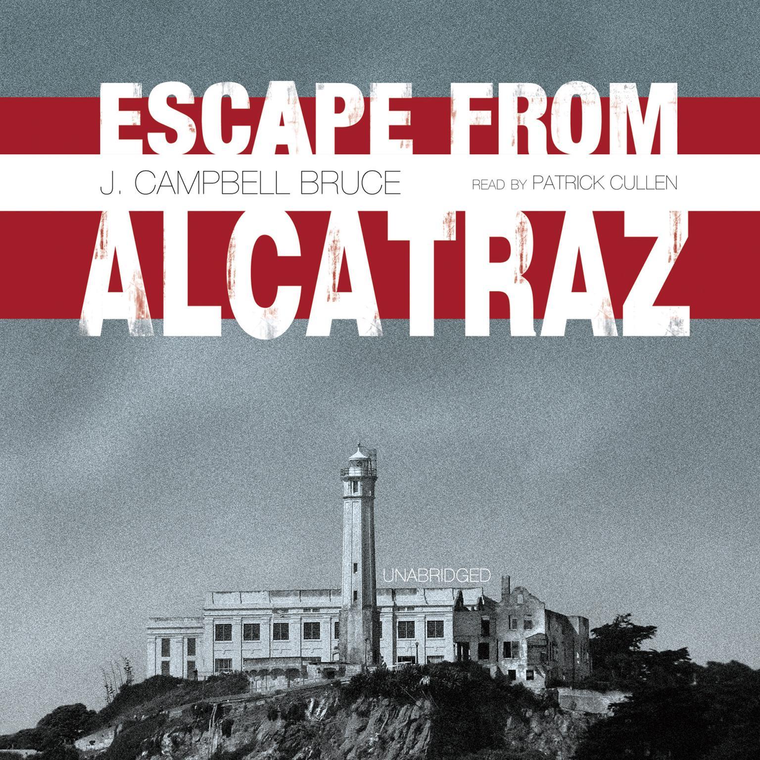 Printable Escape from Alcatraz Audiobook Cover Art