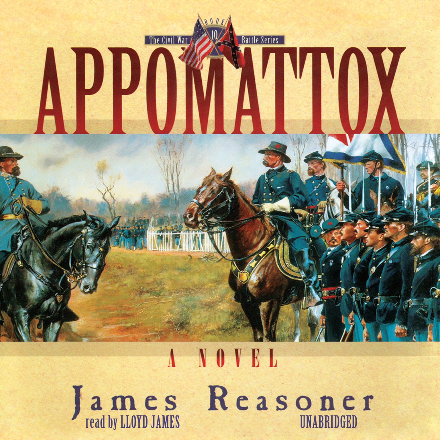 Printable Appomattox Audiobook Cover Art