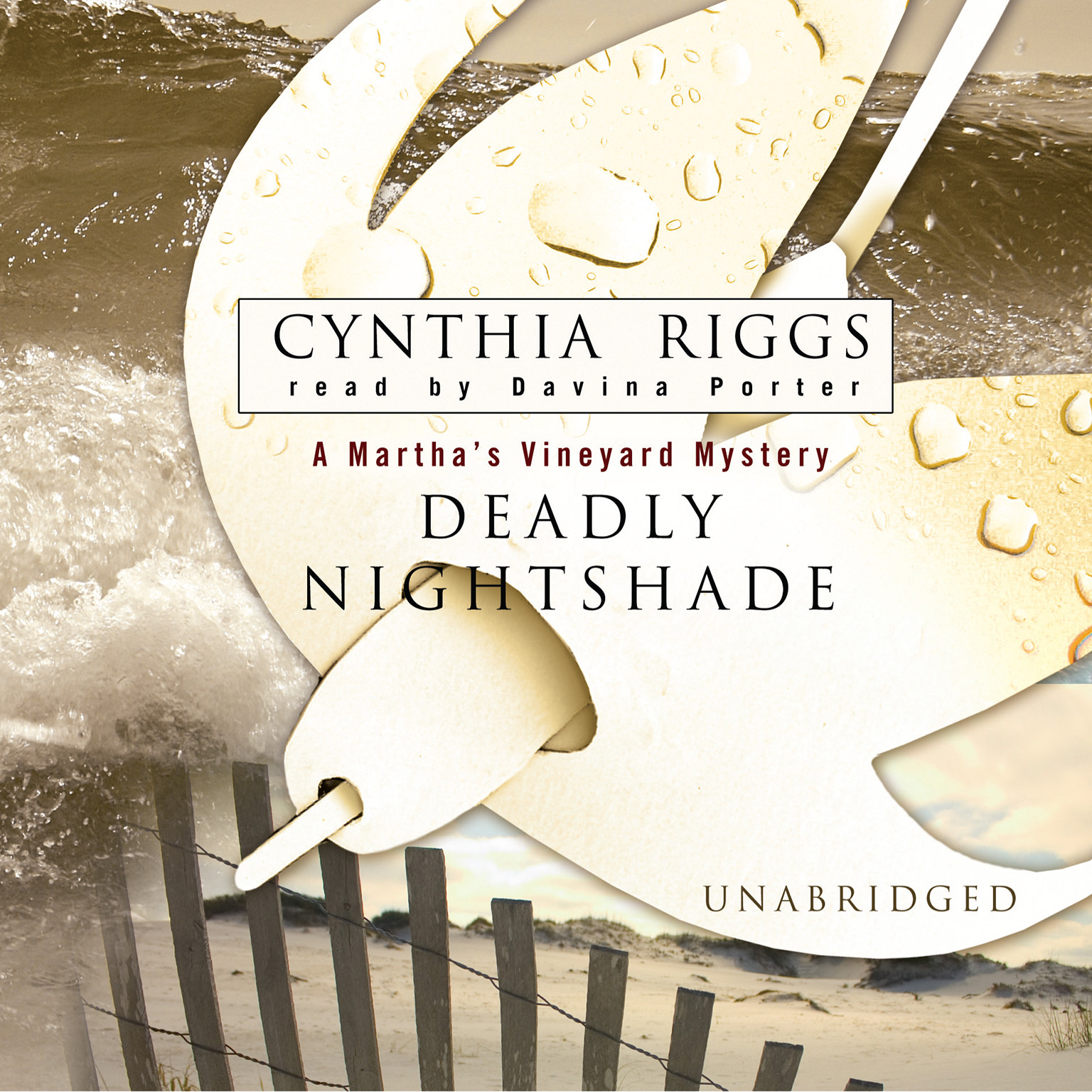 Printable Deadly Nightshade Audiobook Cover Art