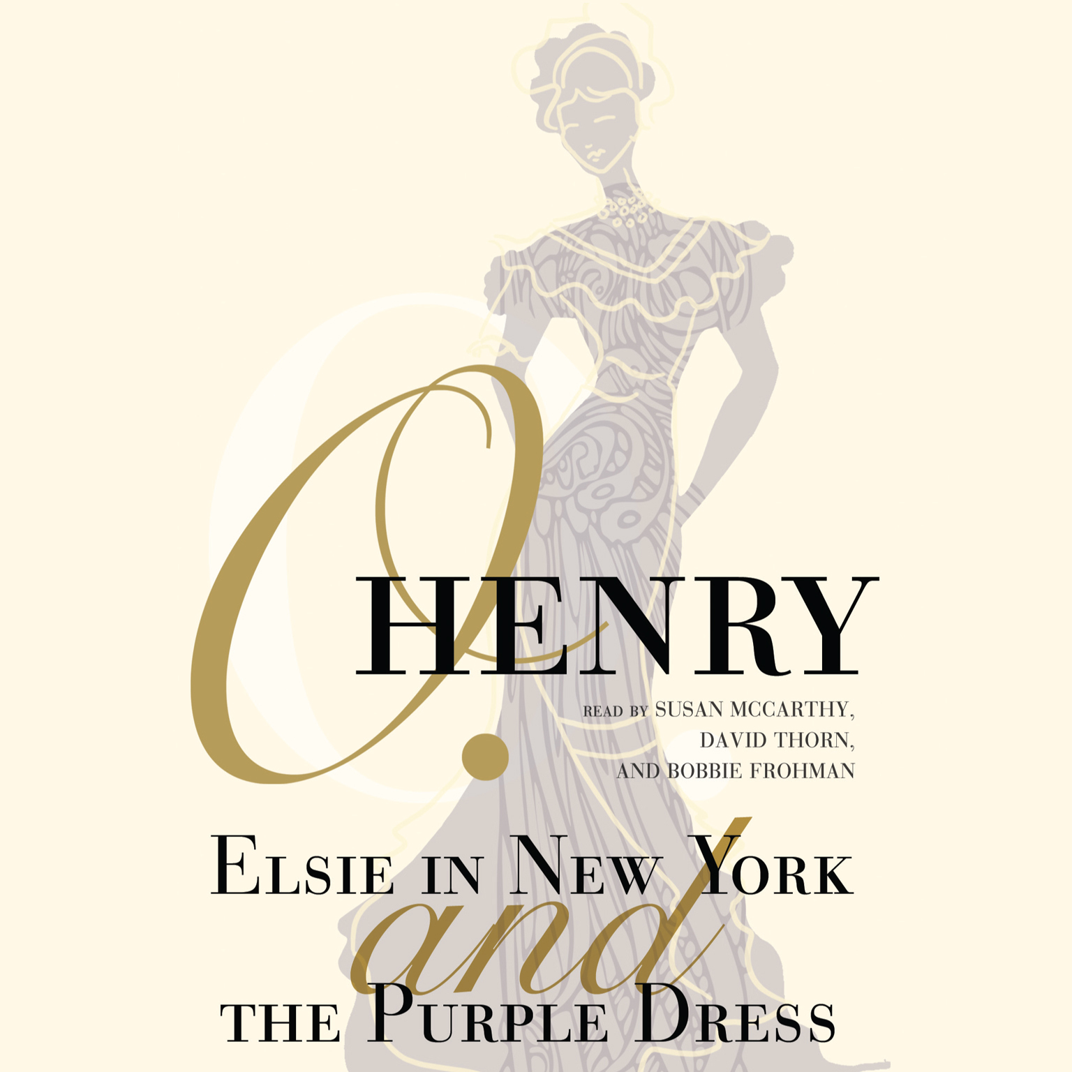 Printable Elsie in New York and The Purple Dress Audiobook Cover Art